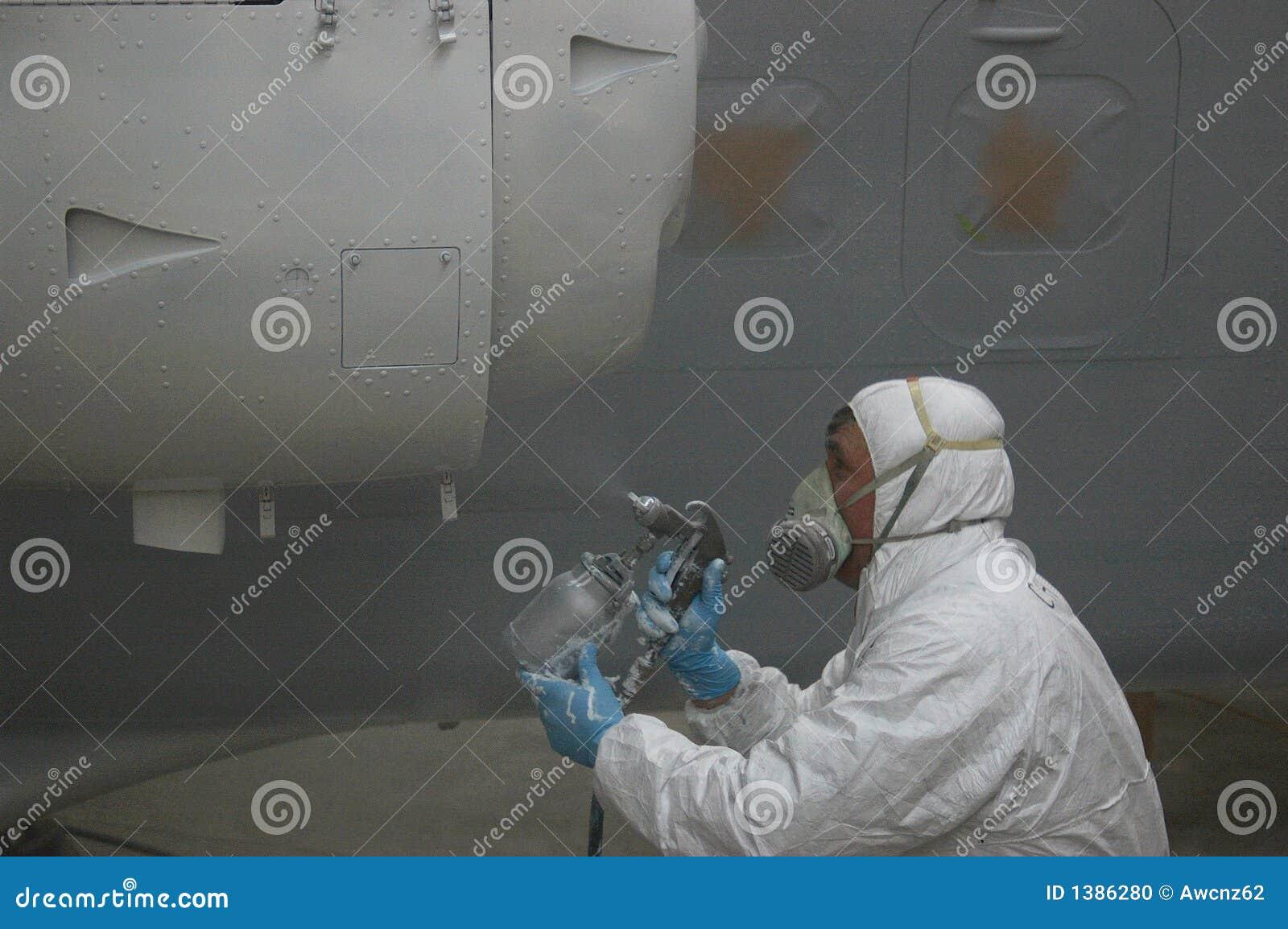 Pintar (con vaporizador) el motor