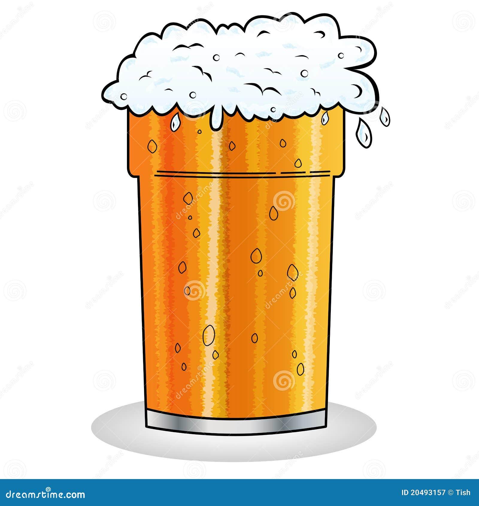 Pinte de type de dessin anim de bi re illustration de vecteur image 20493157 - Pinte de biere en ml ...