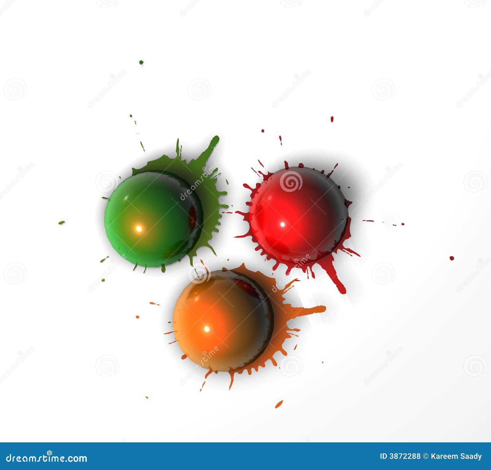 Pinte esferas