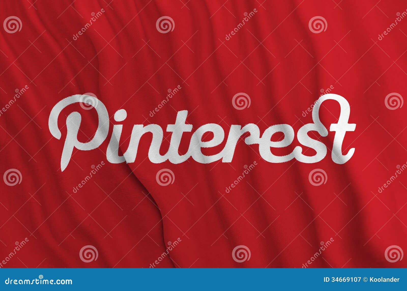 Pinterest flagga