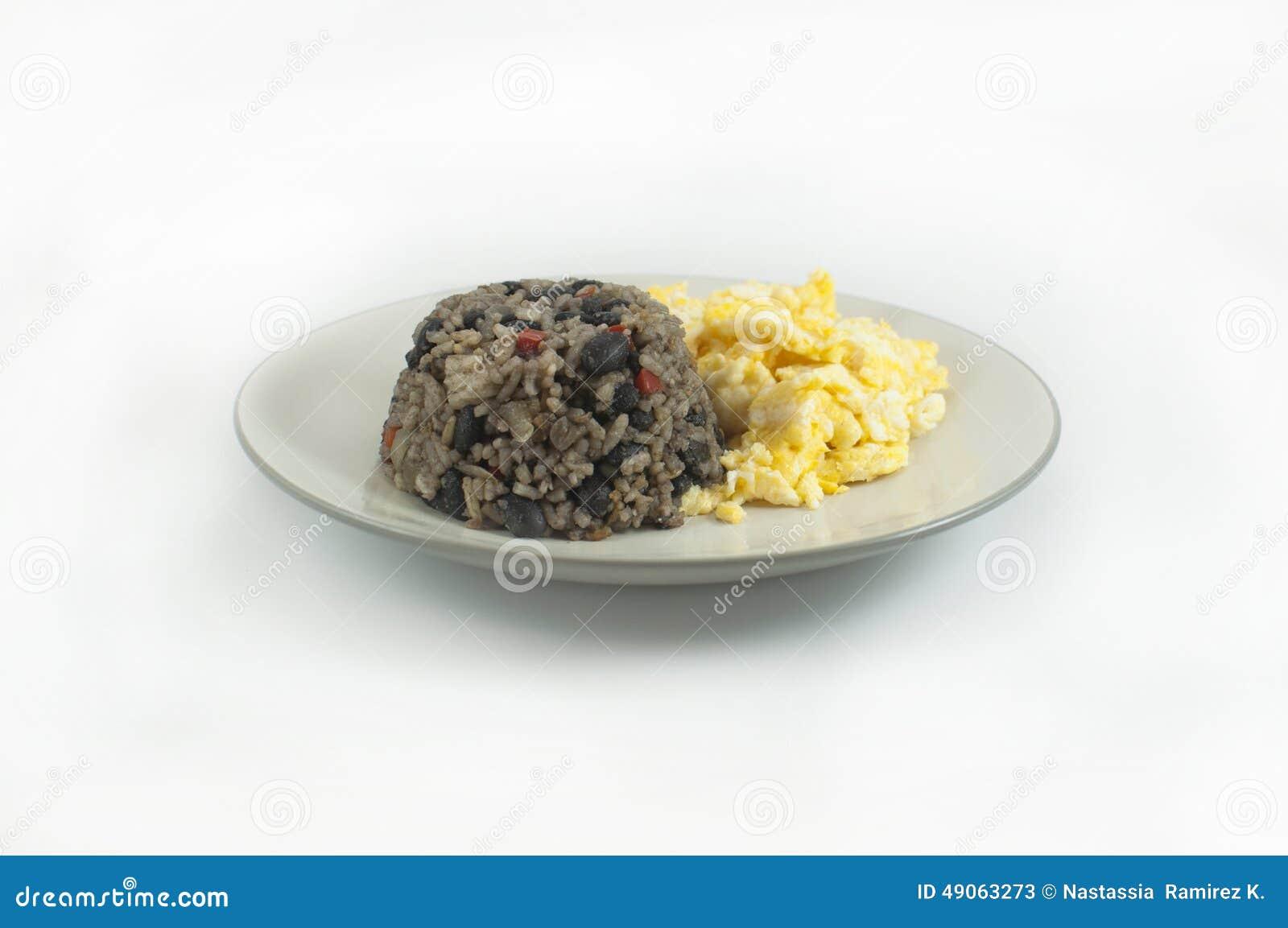 Pinto de Gallo con los huevos