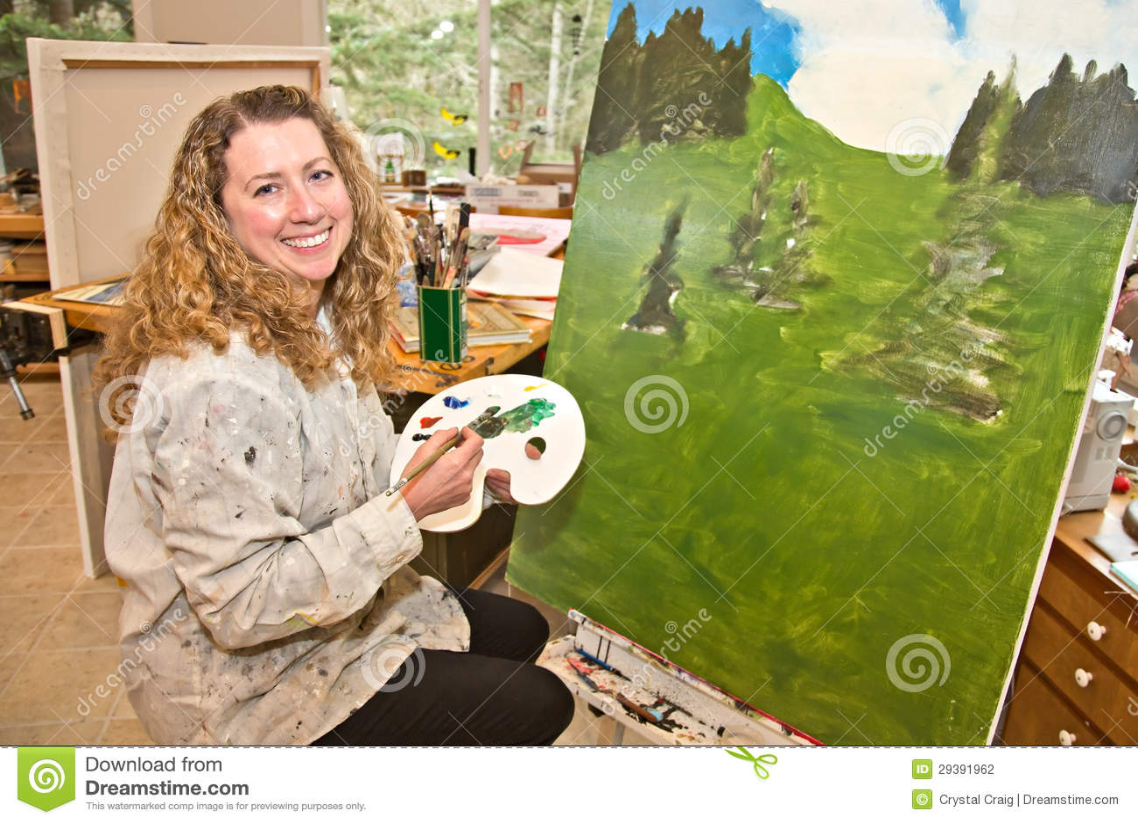 Pintor del paisaje