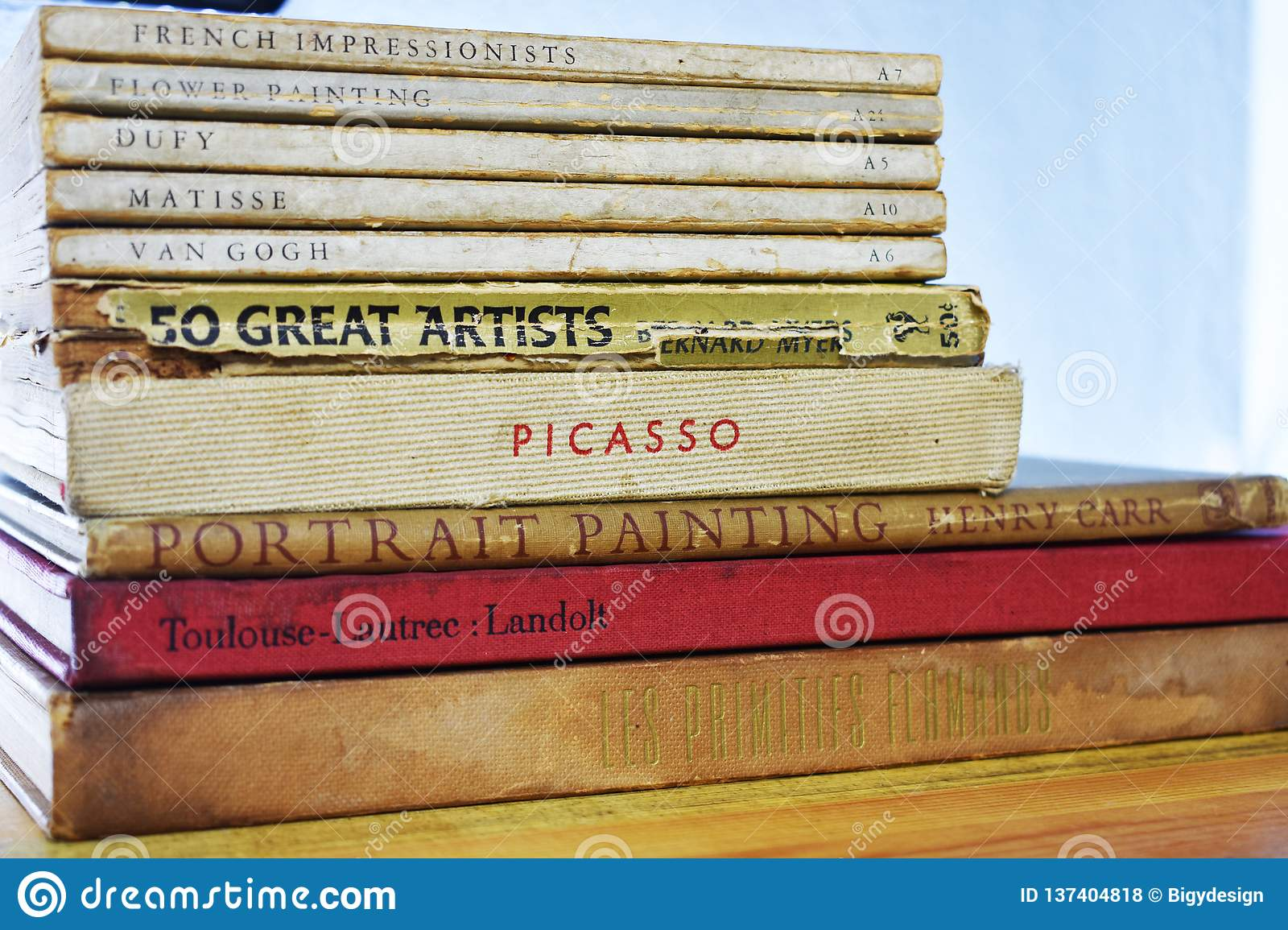 Pintor idoso Books - Dufy, Matisse, Van Gogh Picasso