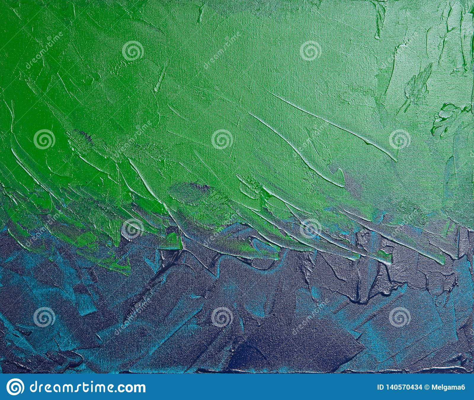 Pintura abstracta texturizada