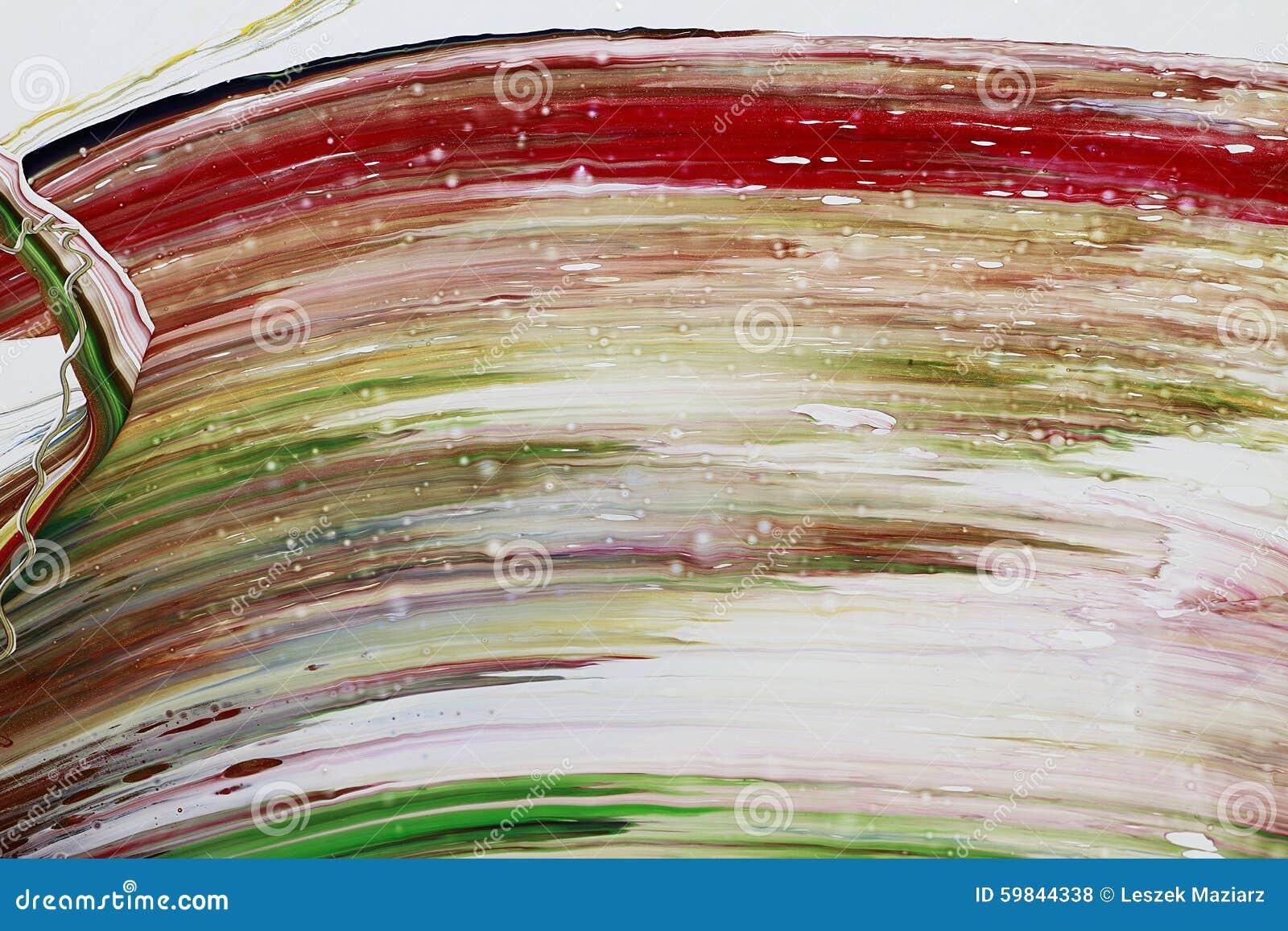 A pintura abstrata colore o fundo