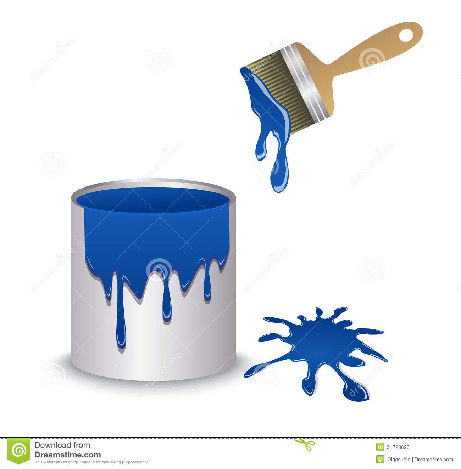 Dark Blue Paint Png