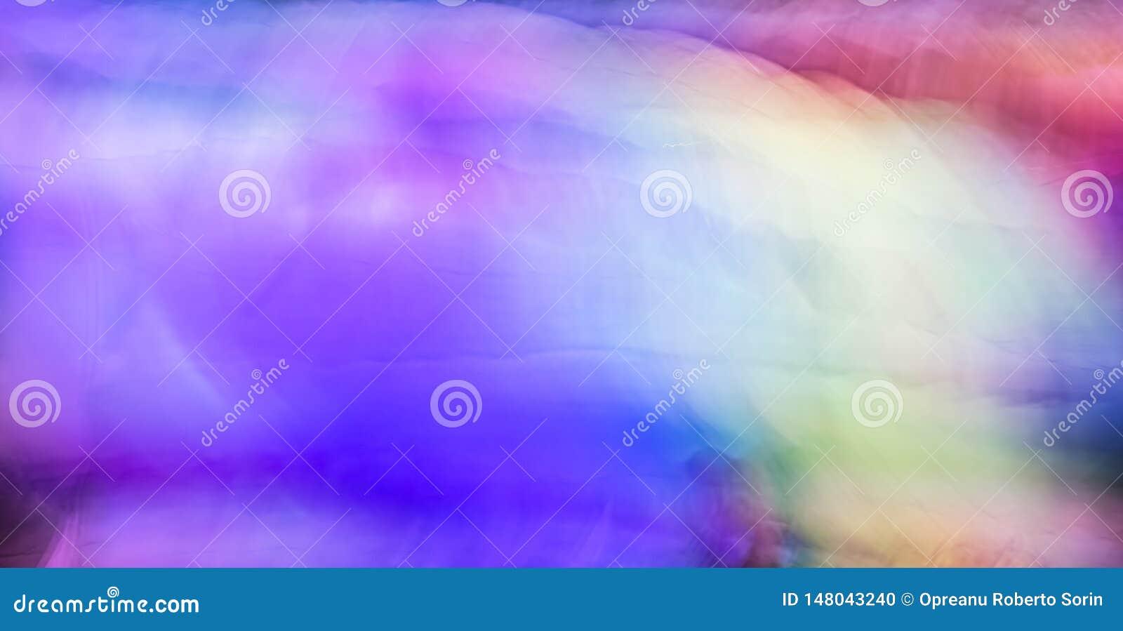 Pintura clara abstrata, exposição longa do borrão de movimento