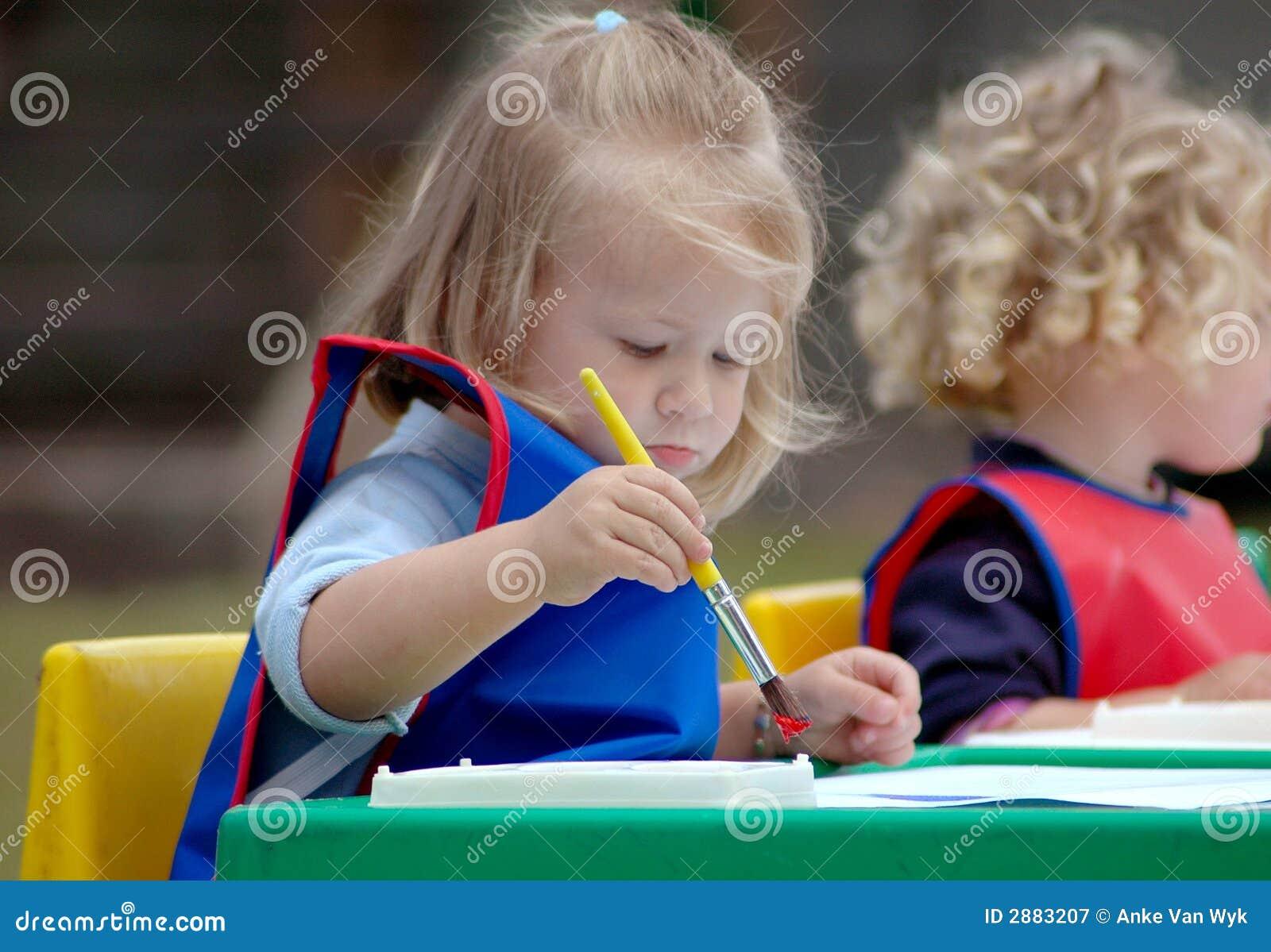 Pintura da criança