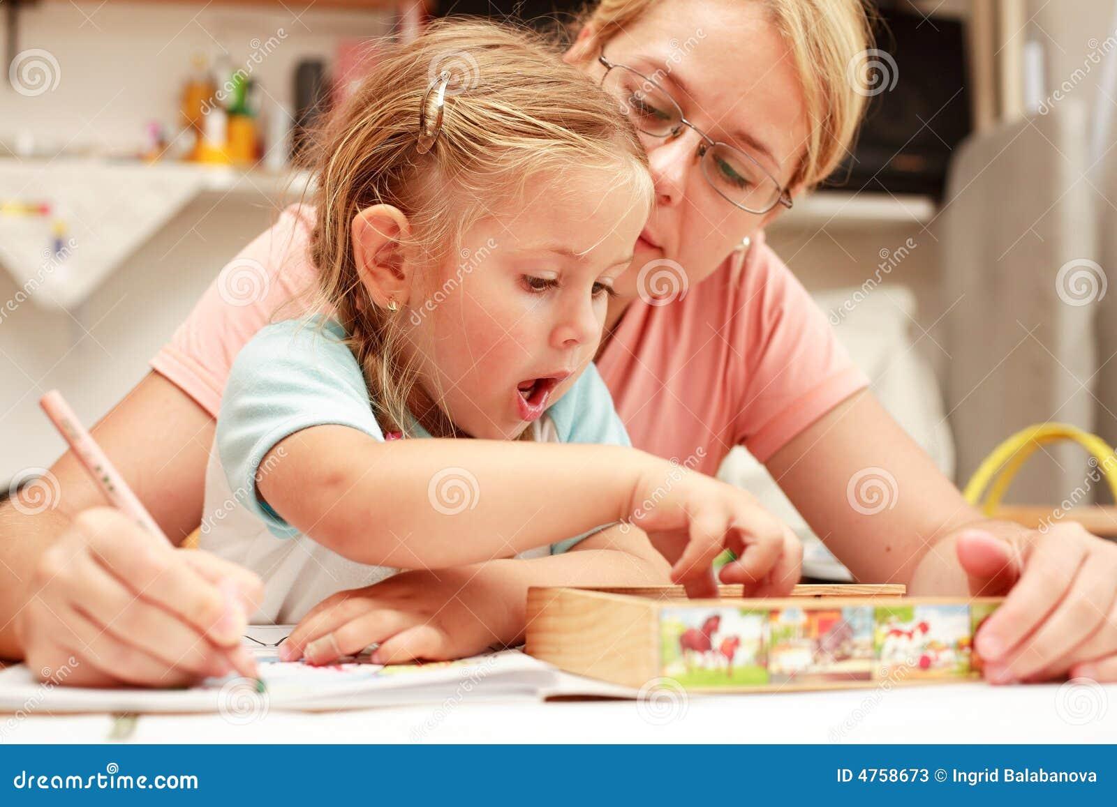 Pintura da matriz e da criança
