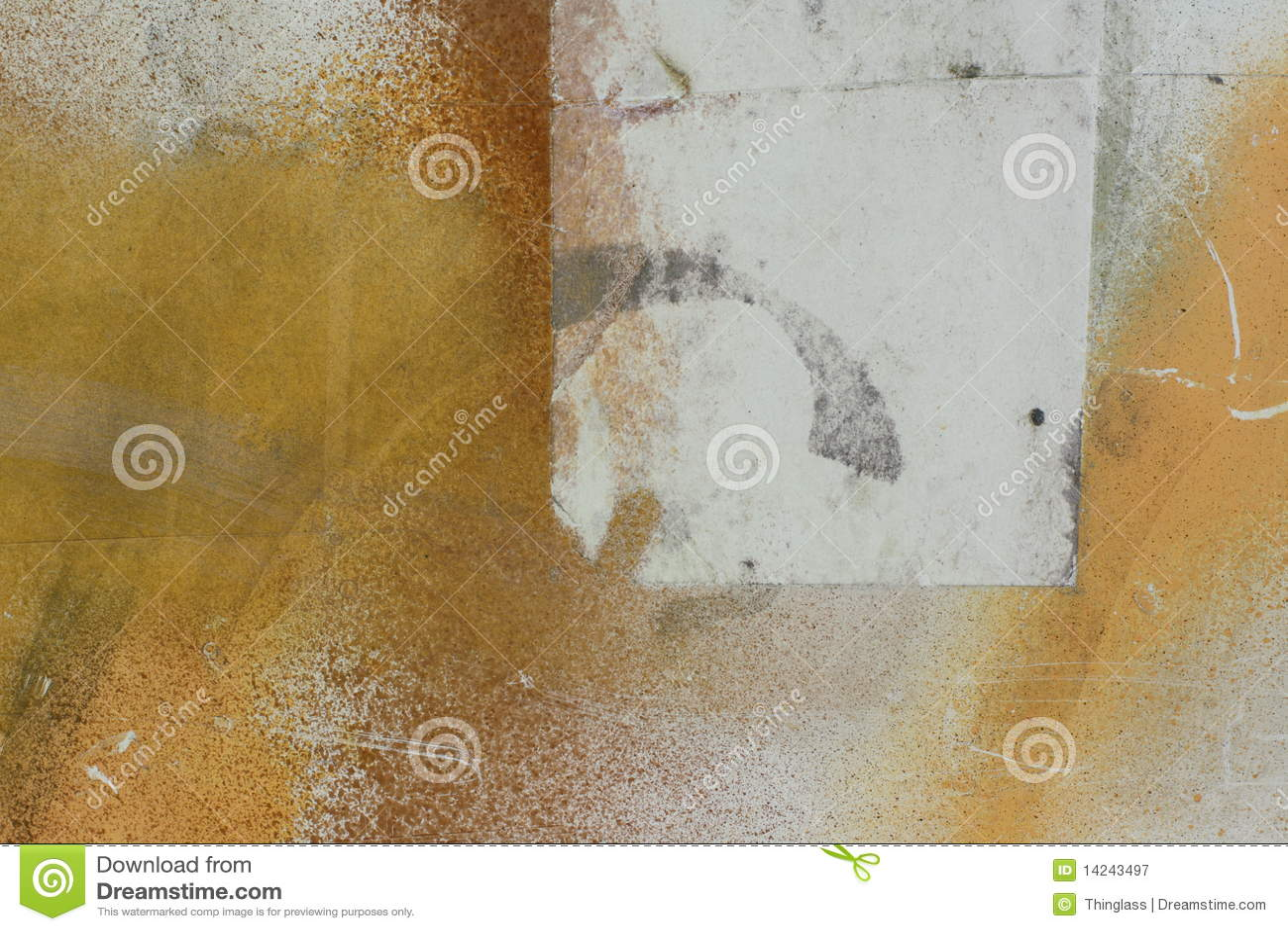 Pintura de aerosol en el papel