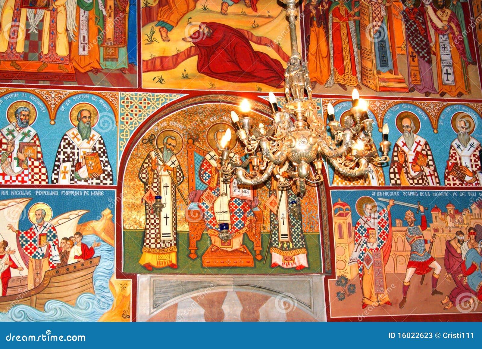 Pintura de la iglesia