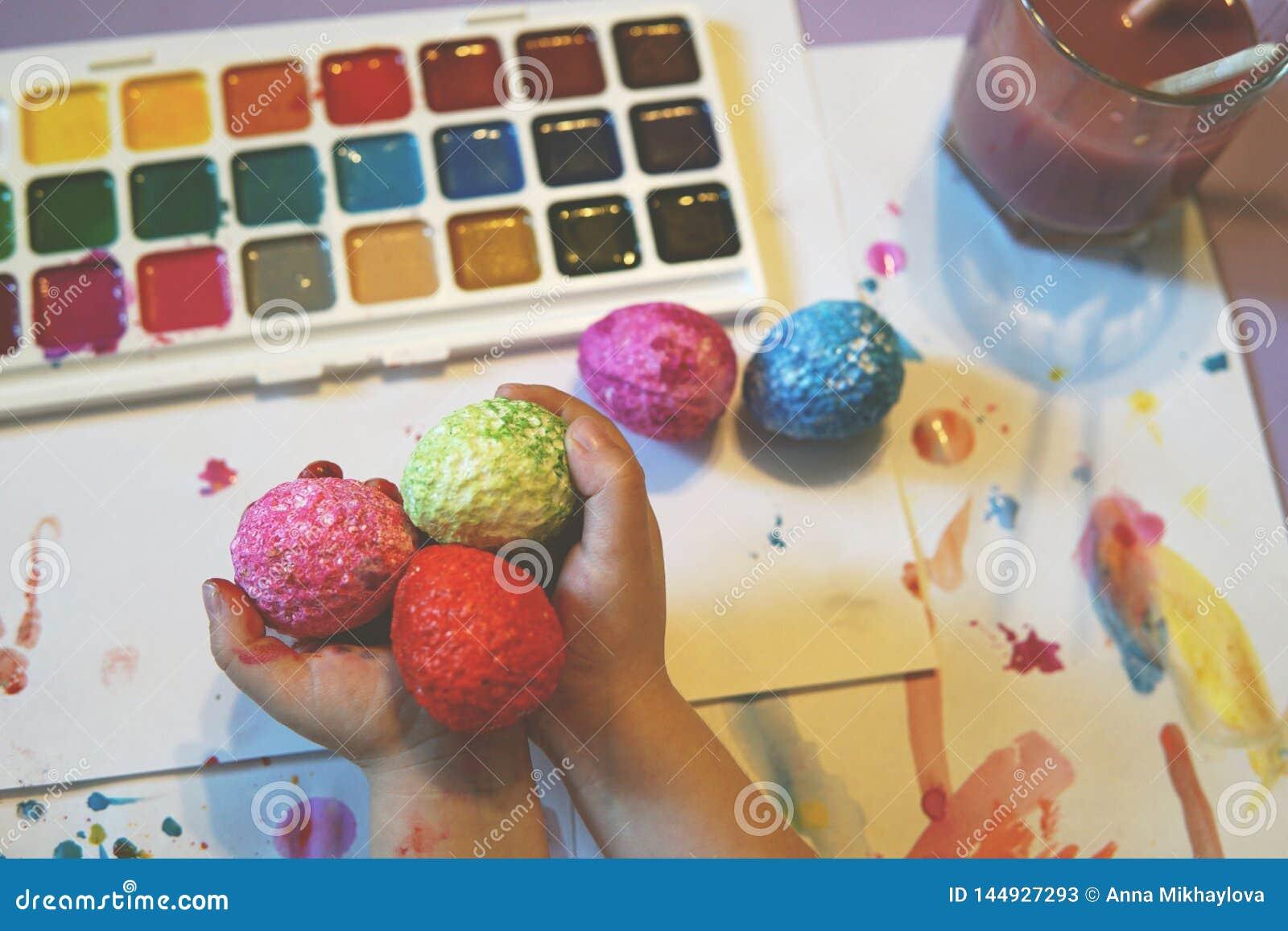 Pintura de los huevos de Pascua