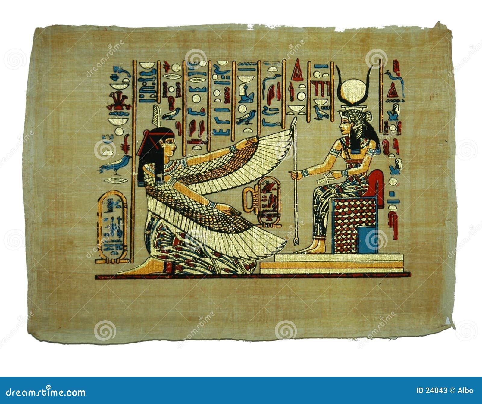 Pintura del papiro