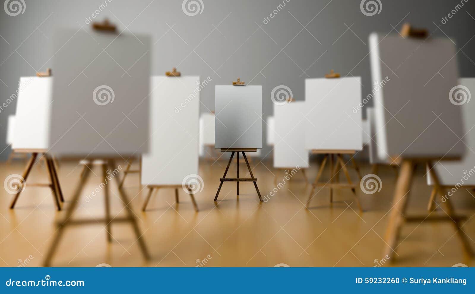 Pintura del trípode