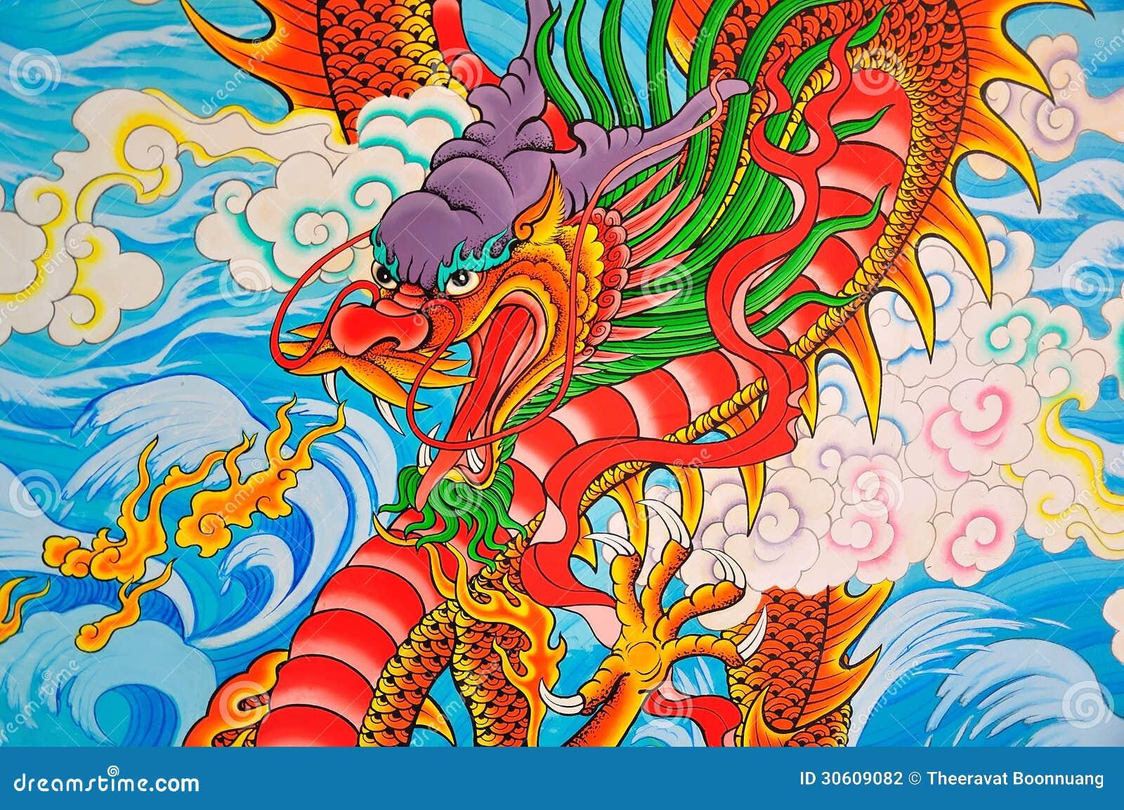 Pintura do estilo de Art Chinese