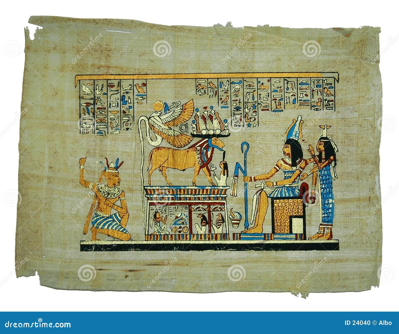 Pintura do papiro