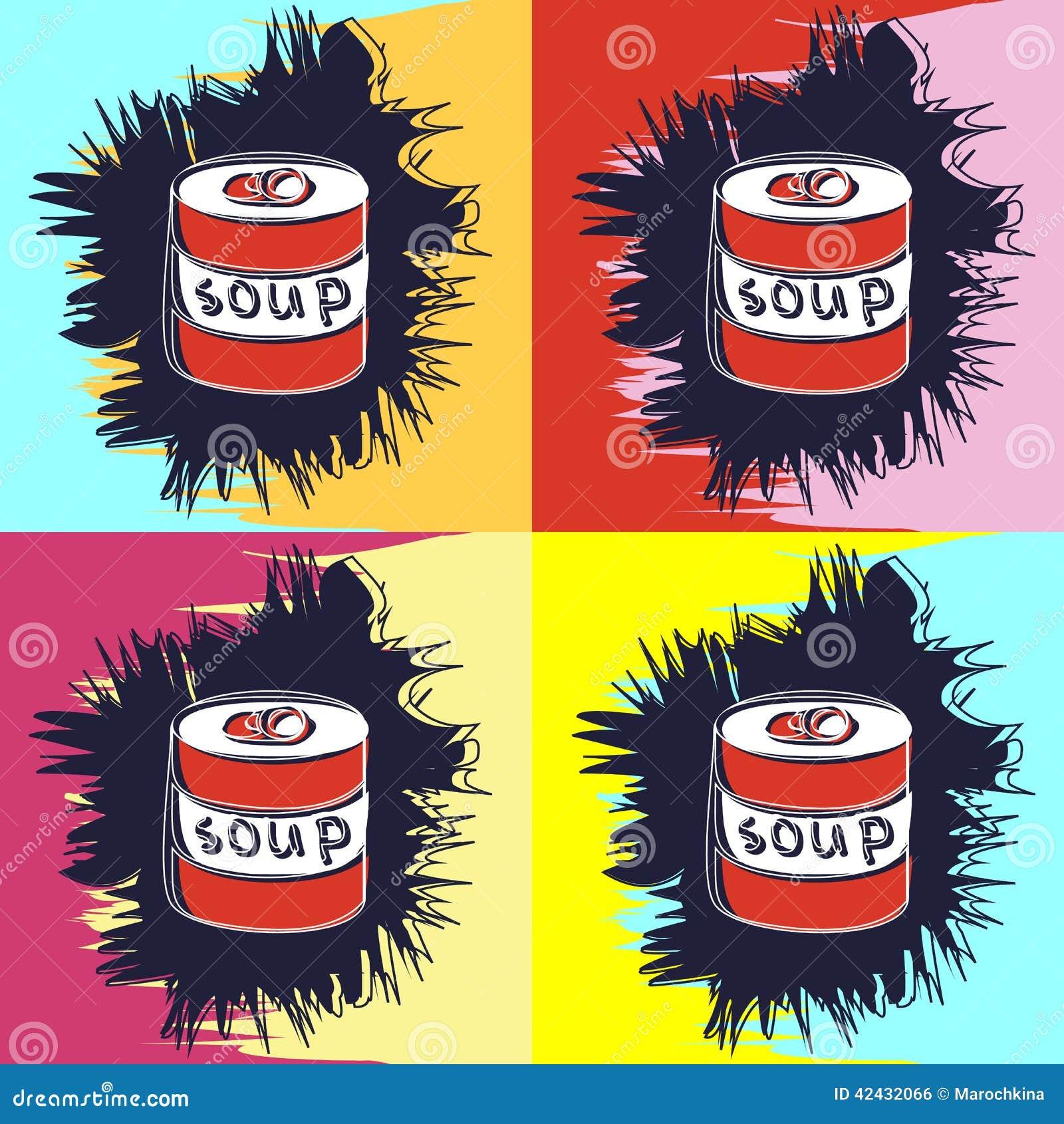 Pintura en el estilo de Andy Warhol