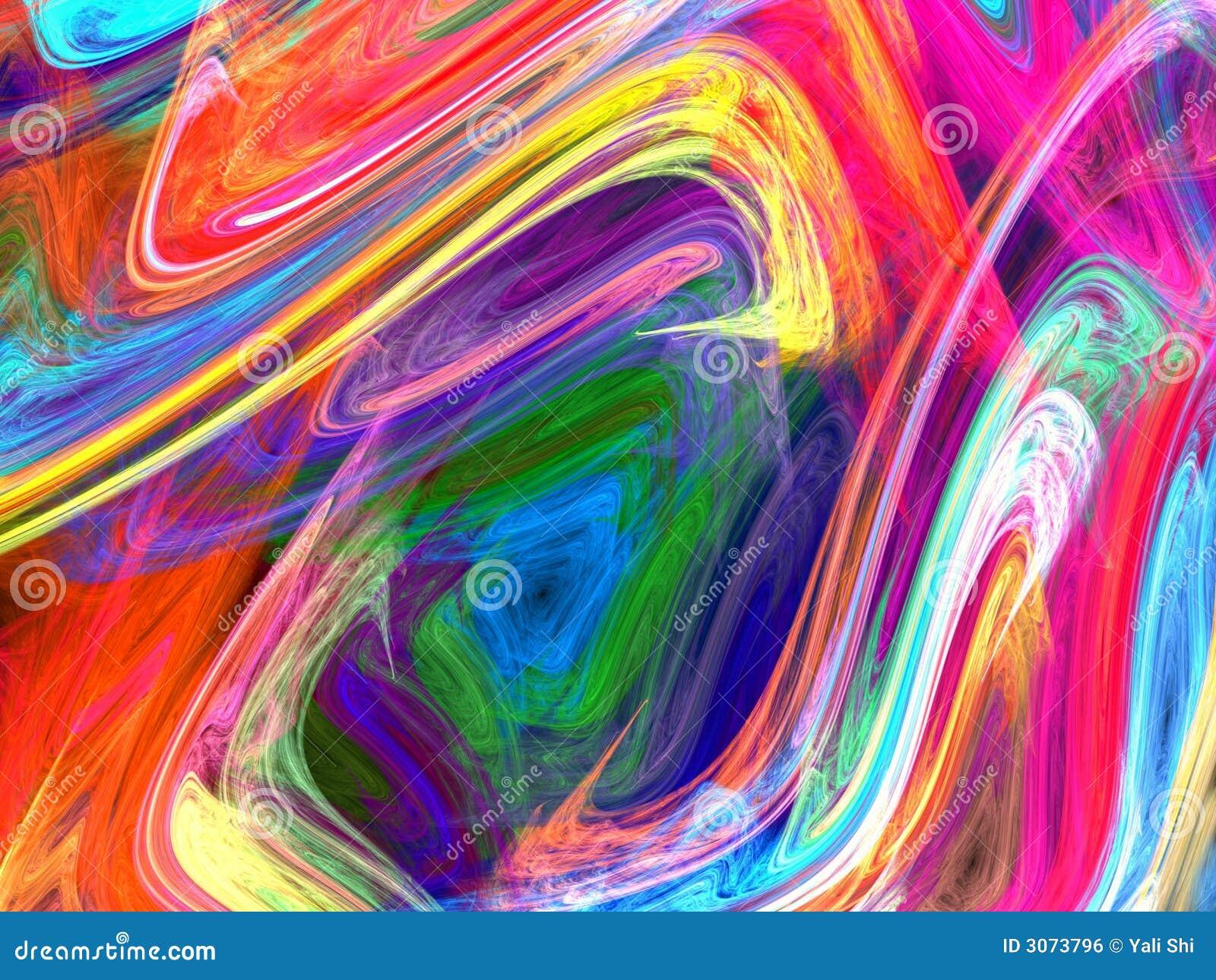 Pintura moderna ilustra o stock imagem de digital fundo - Decorarte pinturas ...