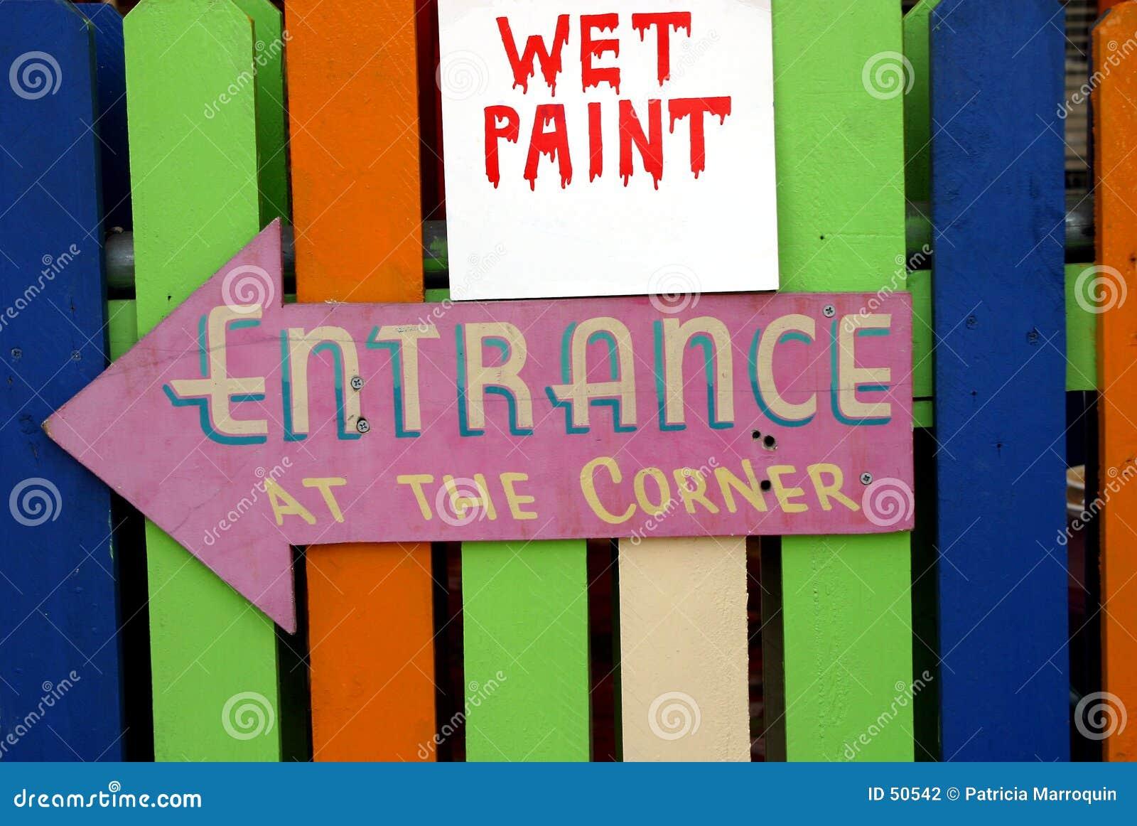 Pintura molhada