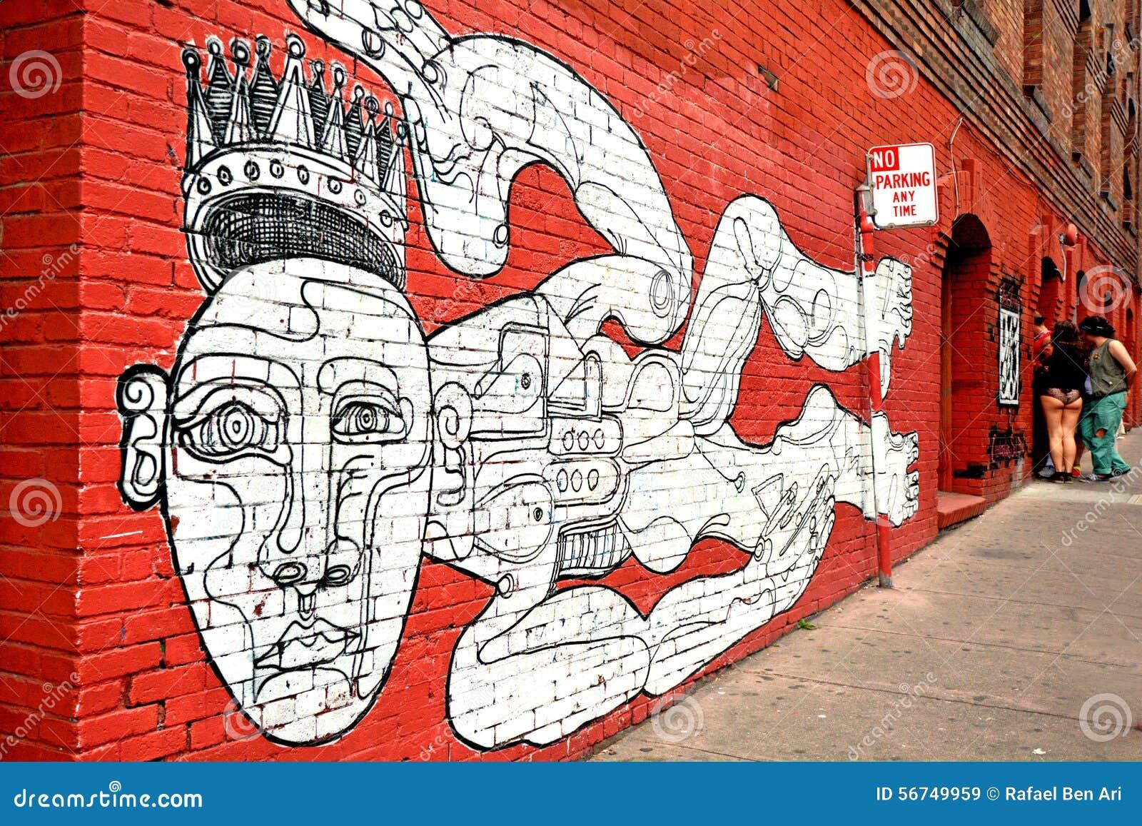 Pintura mural de la pared en san francisco california - Pintar mural en pared ...
