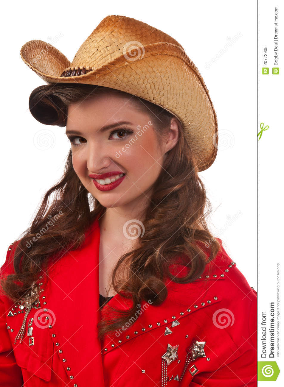 Pinup Cowgirl Royalty Free Stock Photo Image 20772905
