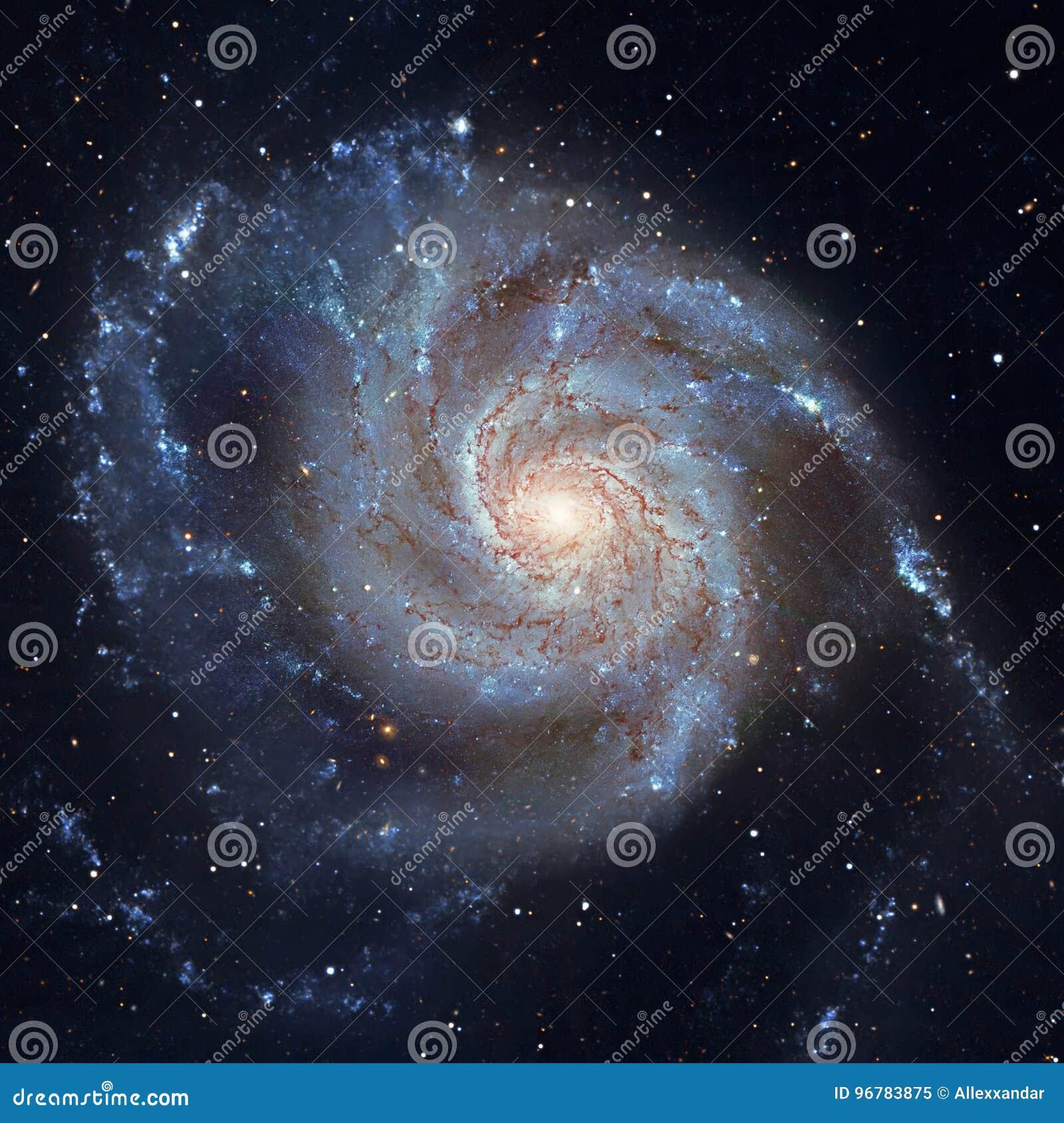 Pinwheel Galaxy Messier 101, M101 in the constellation Ursa Major