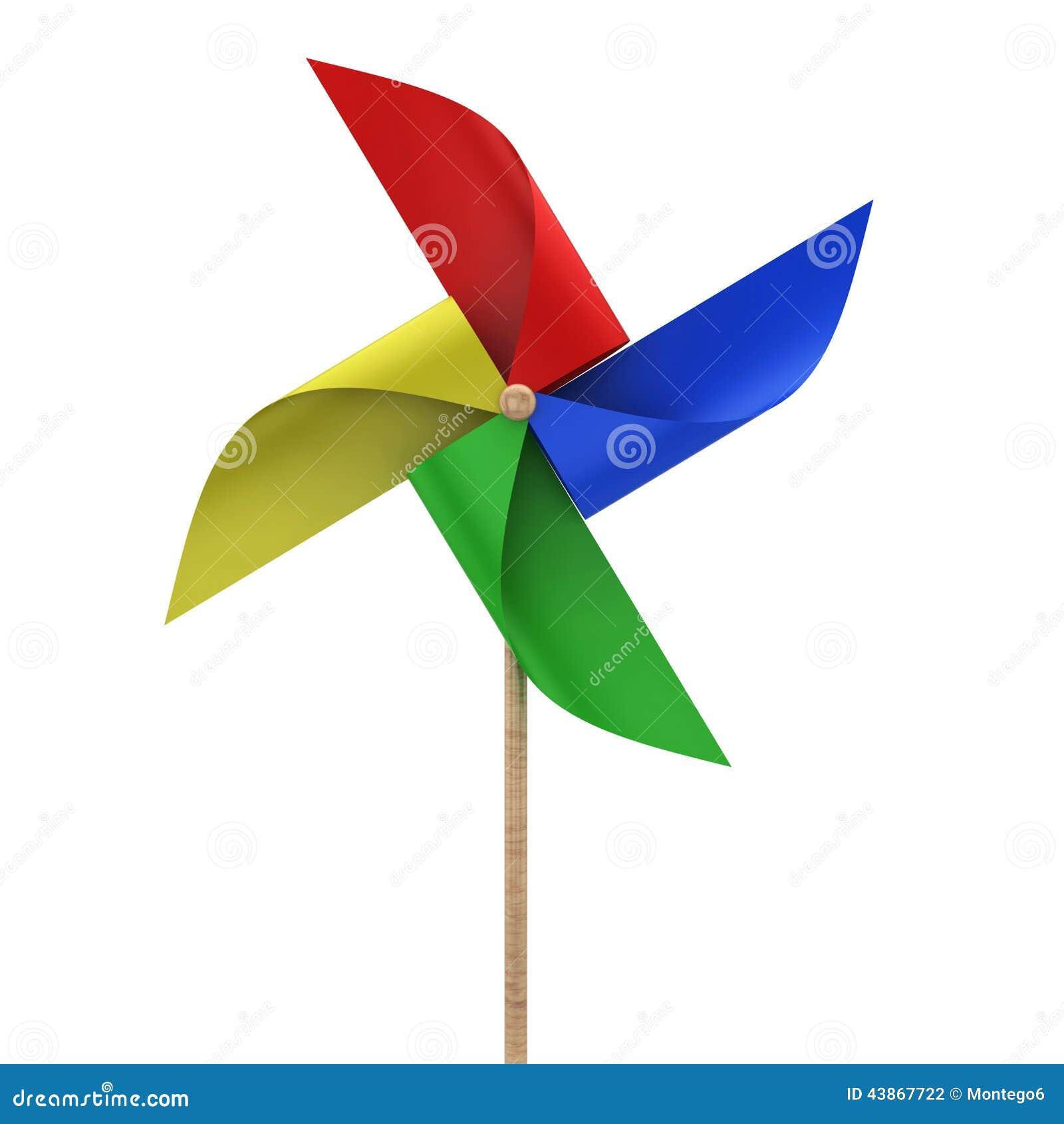Pinwheel zabawka