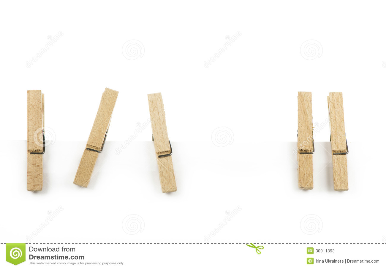 Pinza de madera fotos de archivo imagen 30911893 - Fotos en madera ...