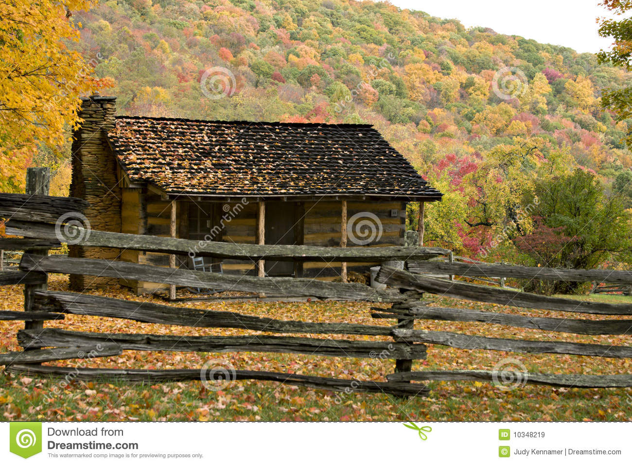 Pioneer homestead in autumn royalty free stock images for Free homestead