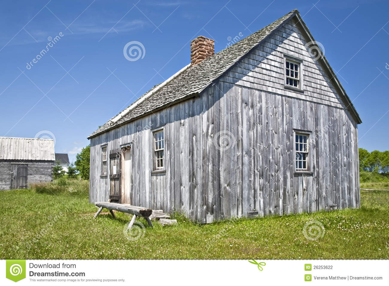 Stock Photography Pioneer House Image26253622 on Pioneer Cabin Plans