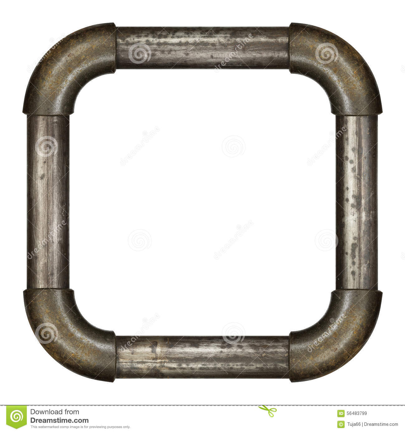 pipe frame royalty free stock images