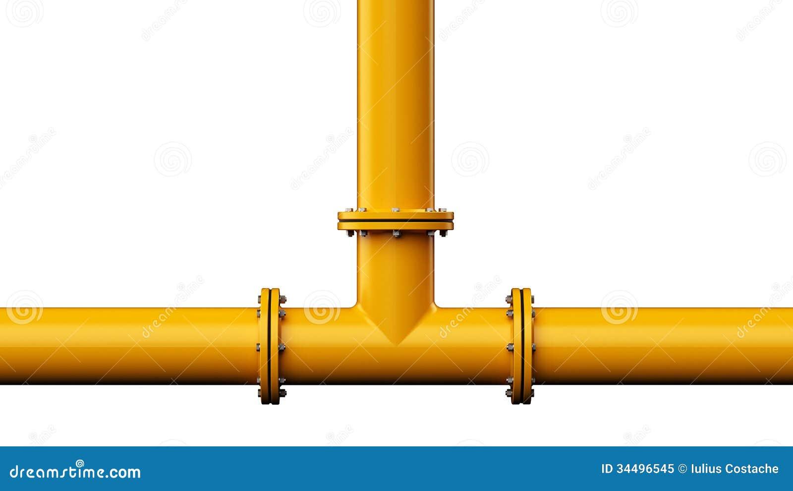 Pipe Stock Illustration Image Of Plumbing Pipeline