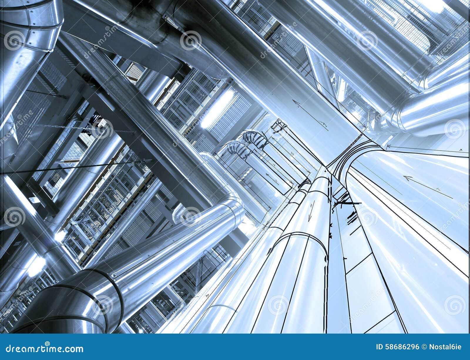 Pipeline Design Conception Stock Photo Image Of Equipment