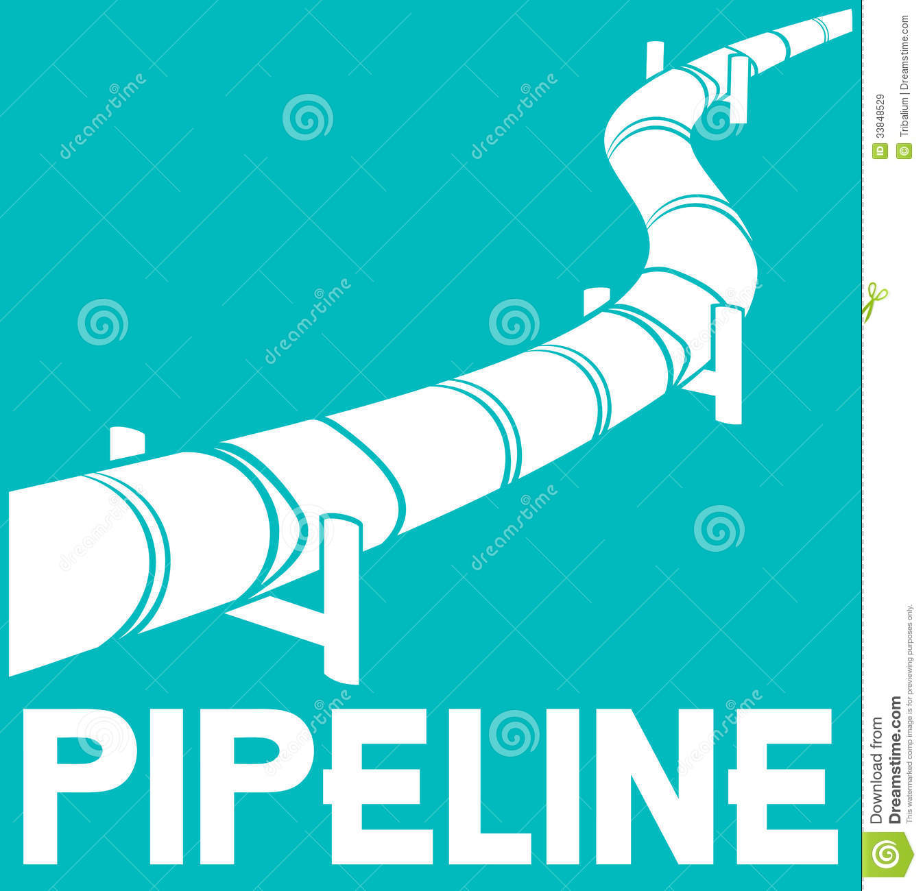 Pipeline Royalty Free Stock Images - Image: 33848529