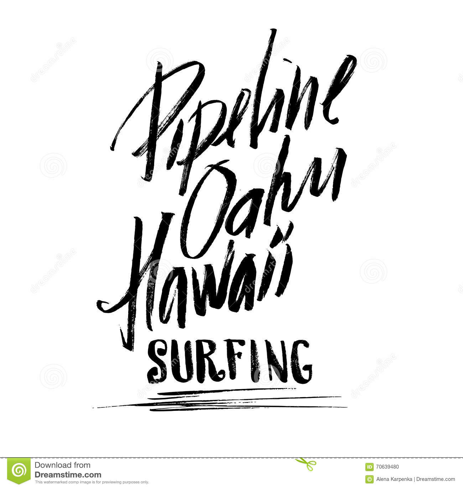 Handdrawn brush lettering cartoon vector cartoondealer - Letras para serigrafia ...