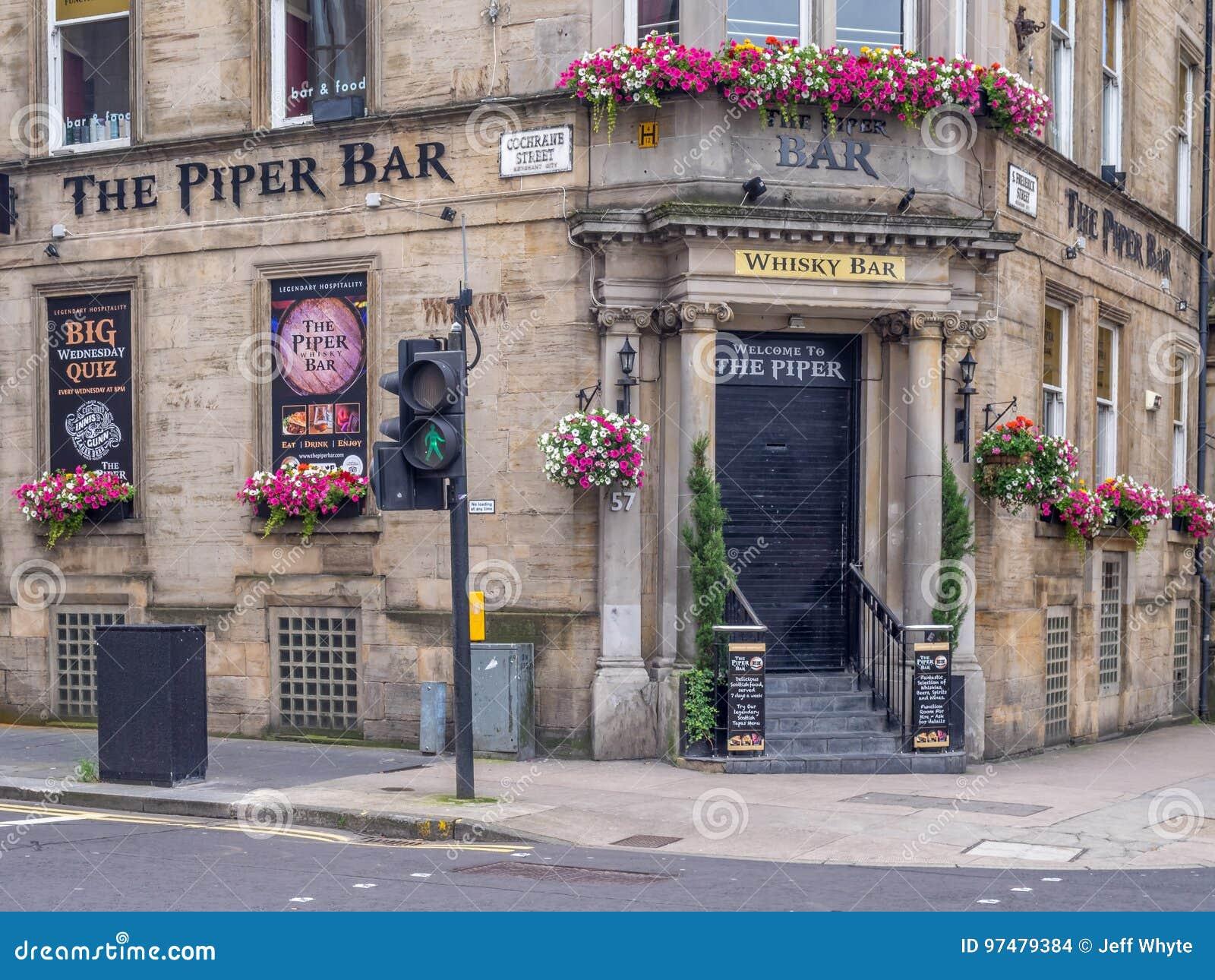Piper Bar a Glasgow, Scozia
