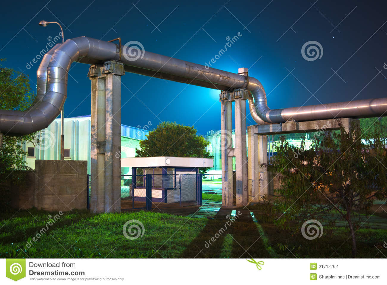 Pipes industrielles