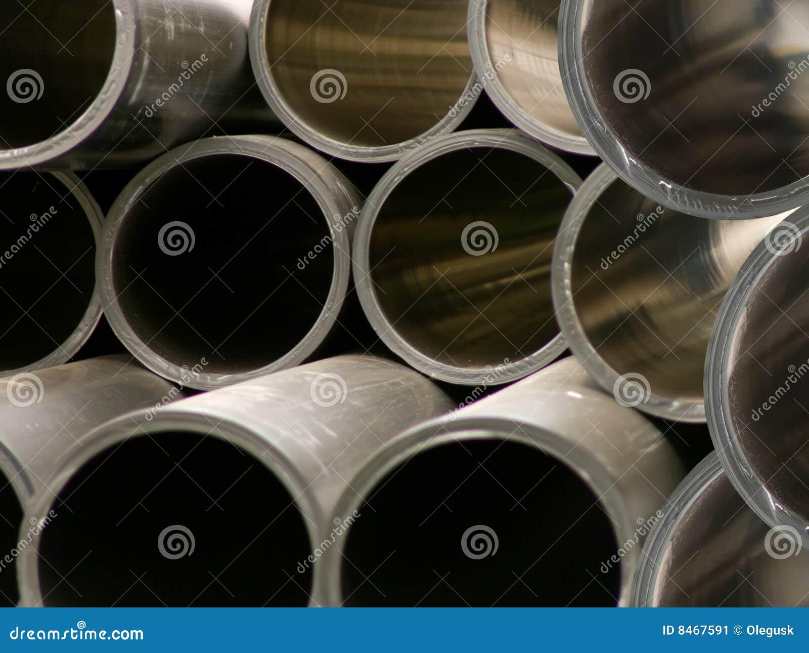 Pipes polymeric runt avsnittvatten