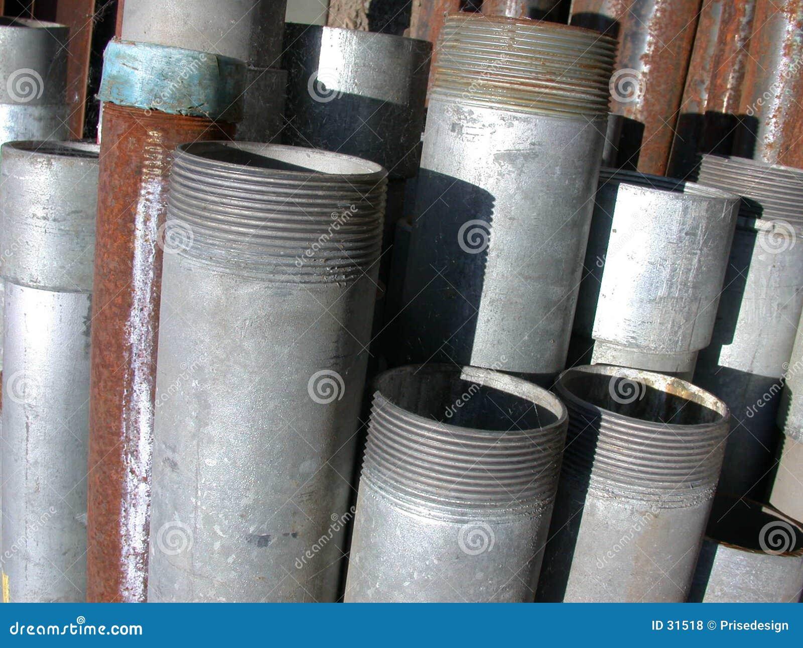 Pipes stål
