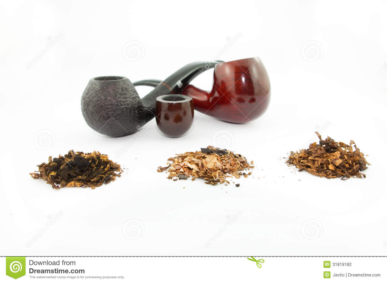Pipes and tobacco stock photography image 31819182 for Kinds of pipes