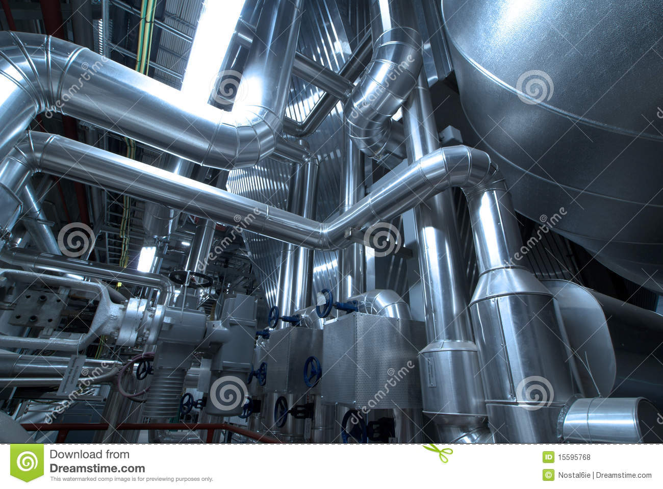 Pipes, tubes, machinery steam turbine