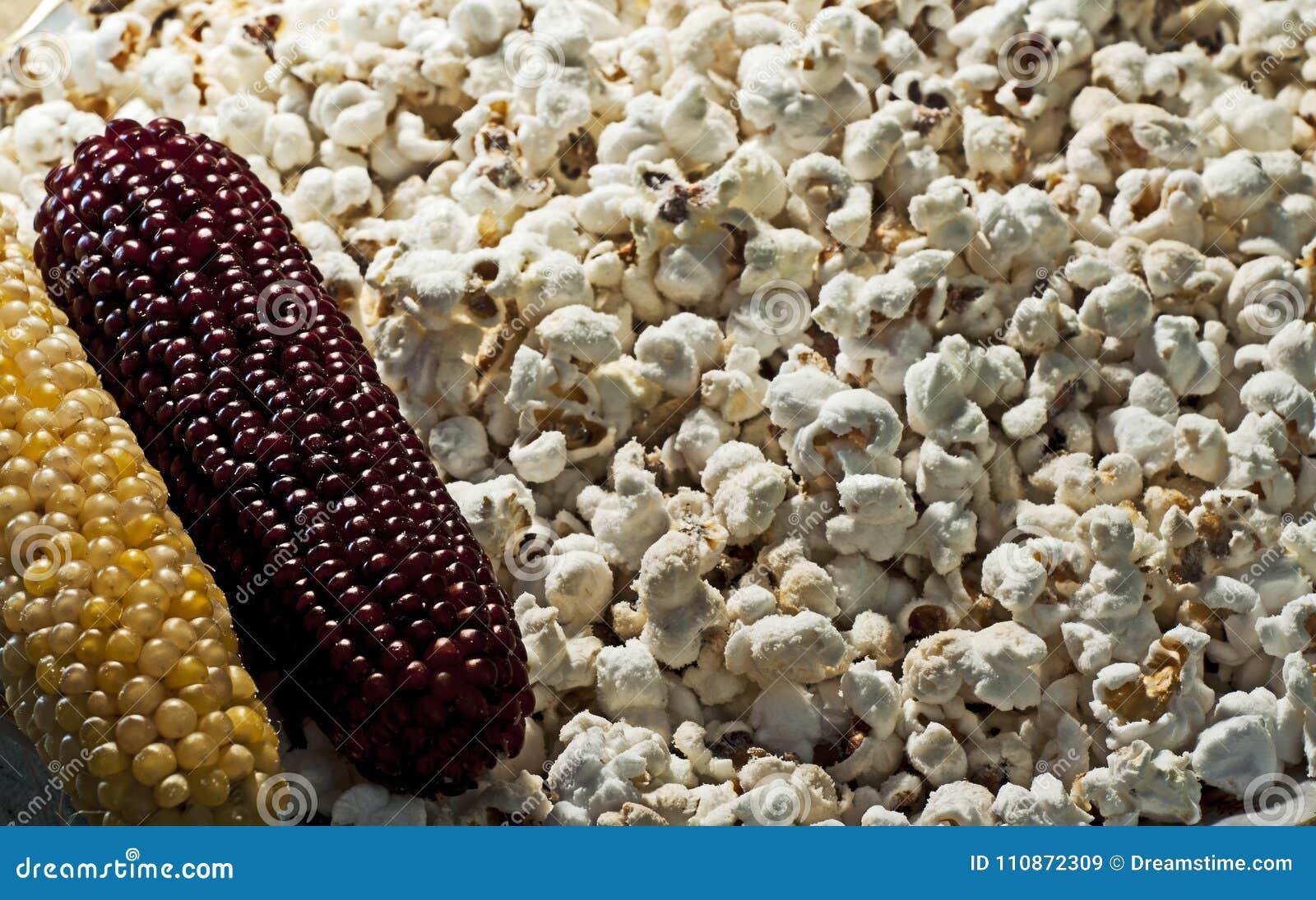 Pipoca deliciosa do milho