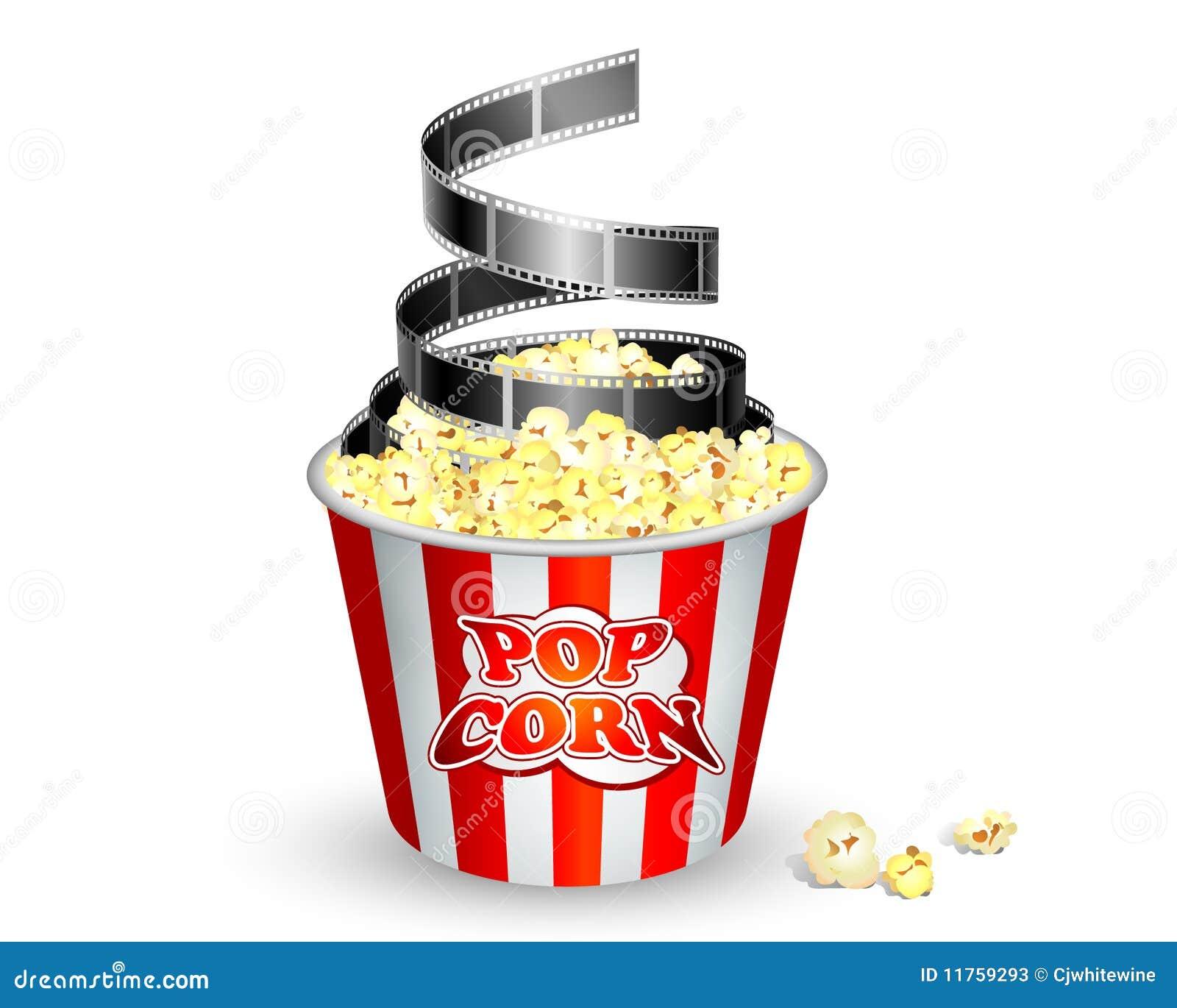 Pipoca e película