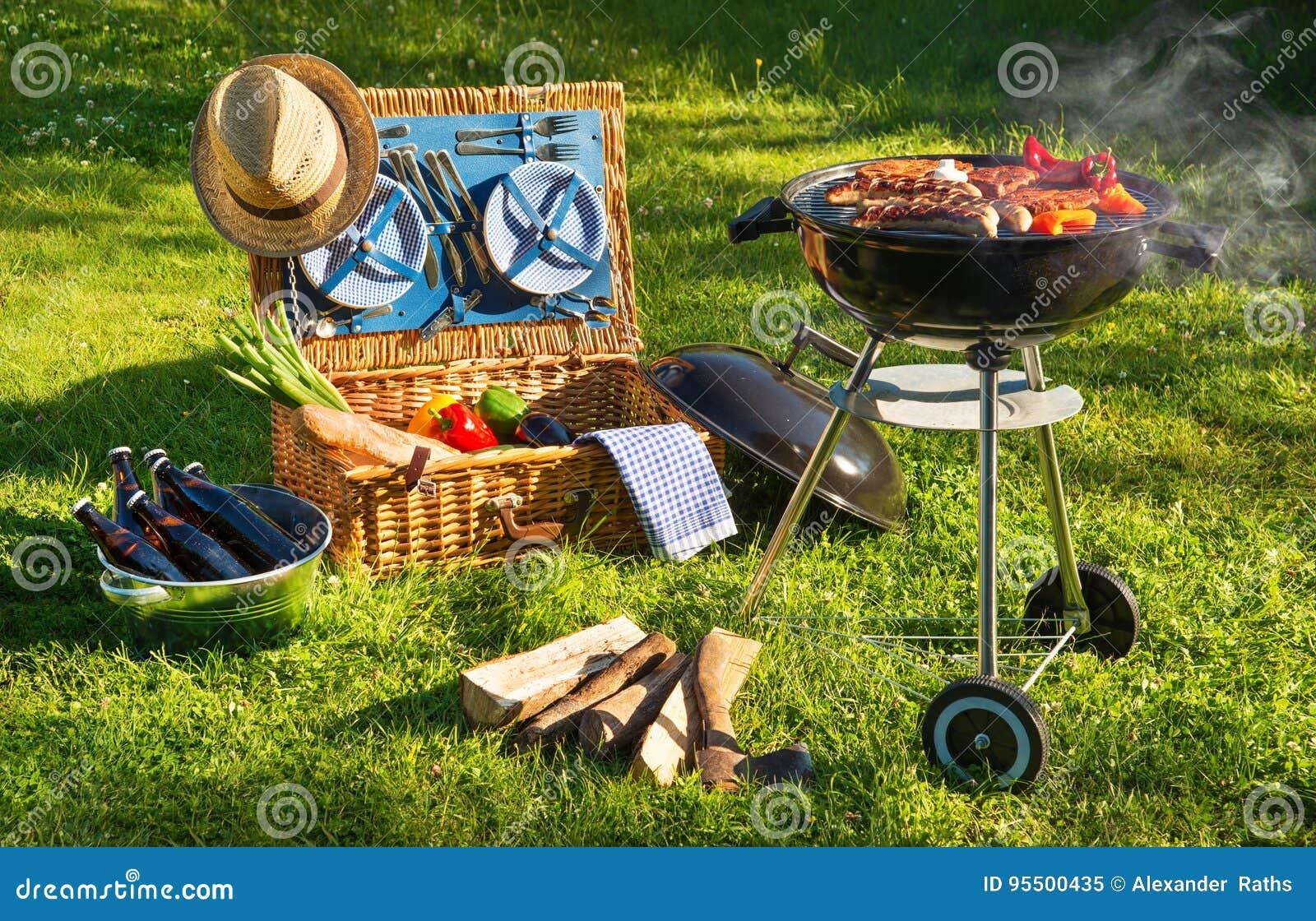 Pique-nique de barbecue