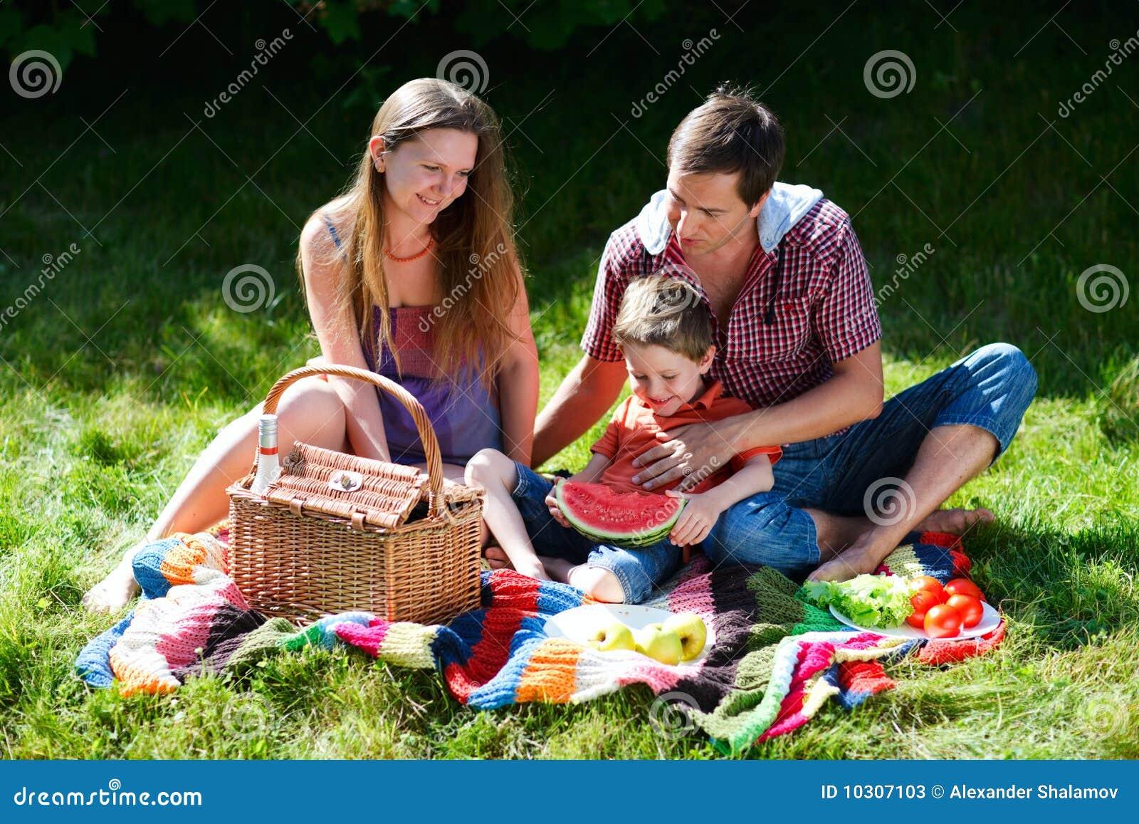 Pique-nique de famille
