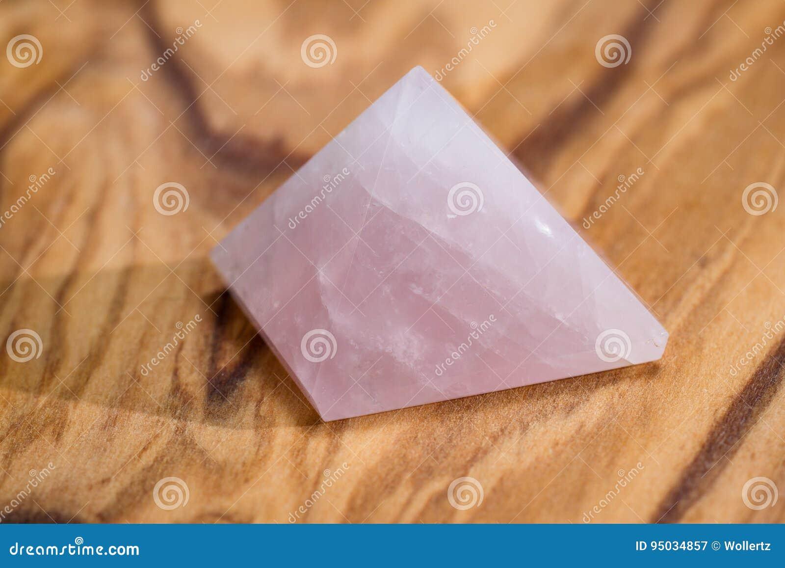 Pirámide del cuarzo de Rose