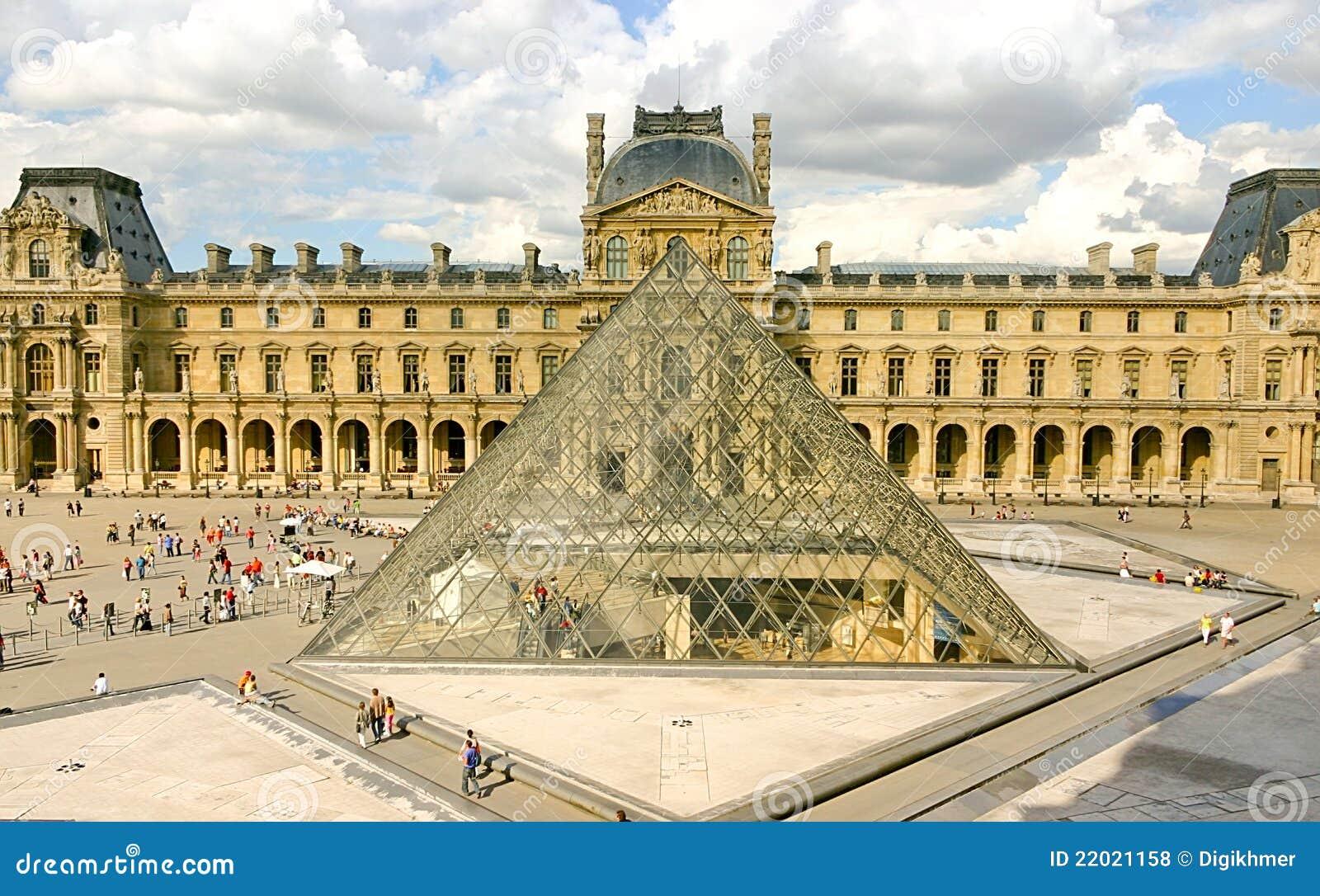 Pirámide del museo de la lumbrera