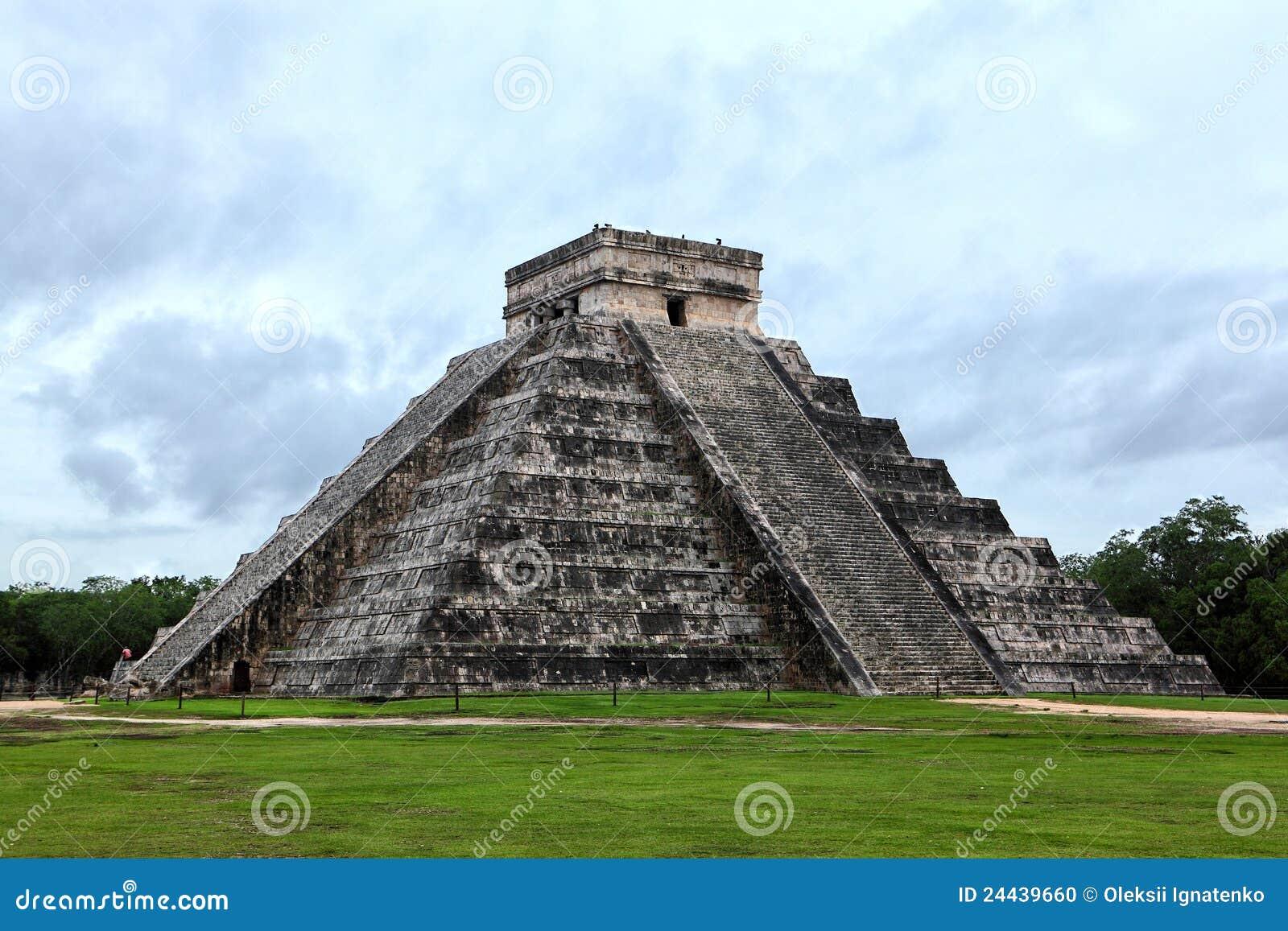 Pirámide maya de Kukulcan