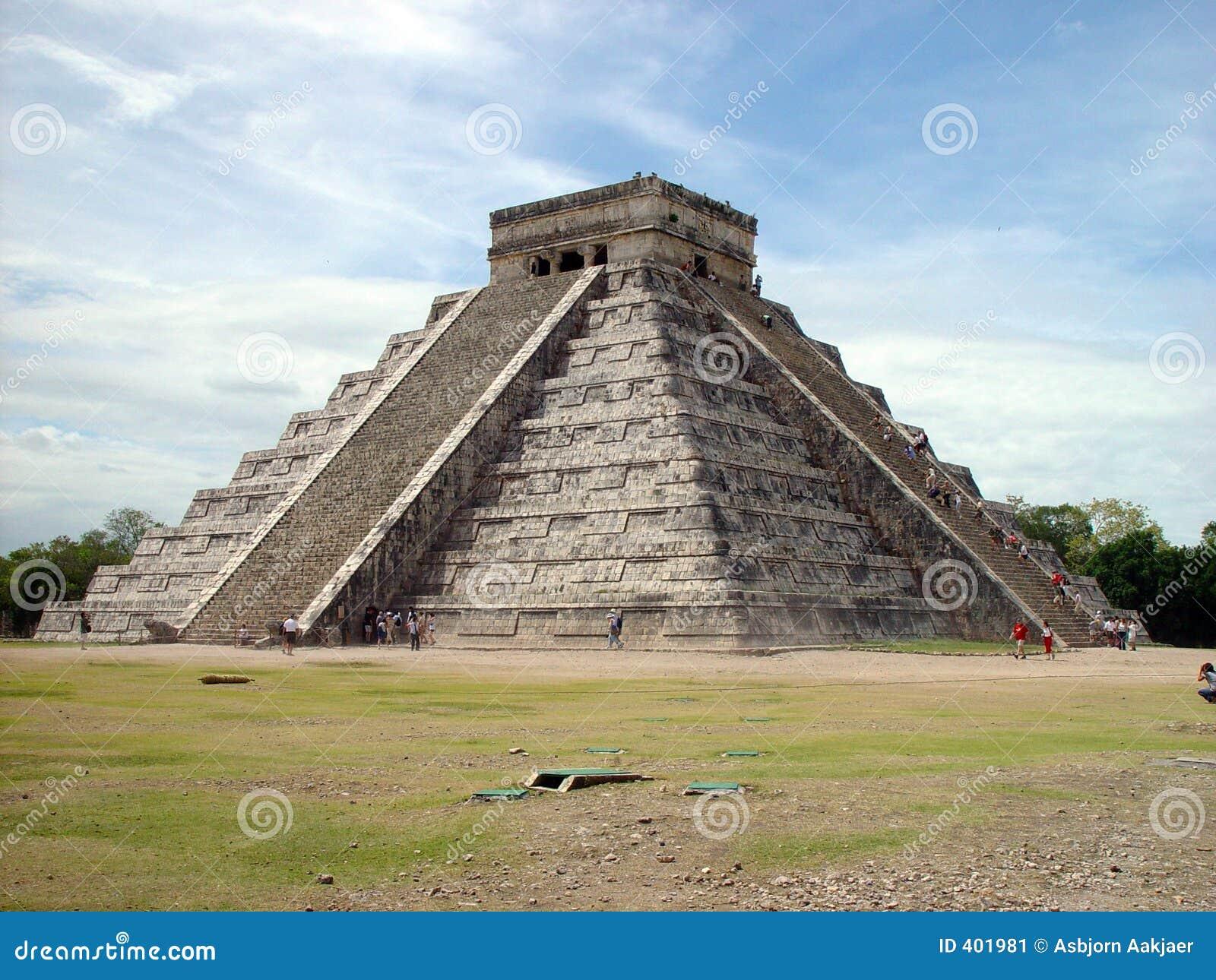 Pirámide mexicana Chichen Itza