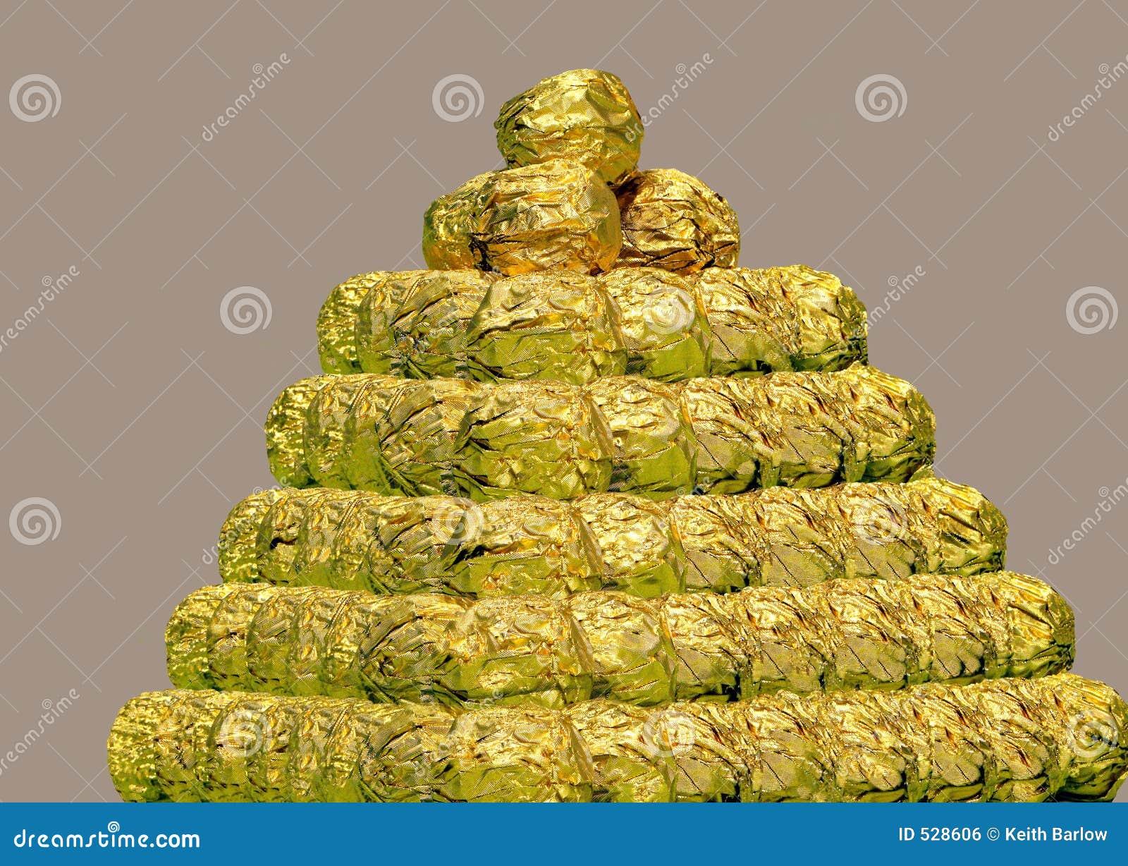Pirâmide dos chocolates